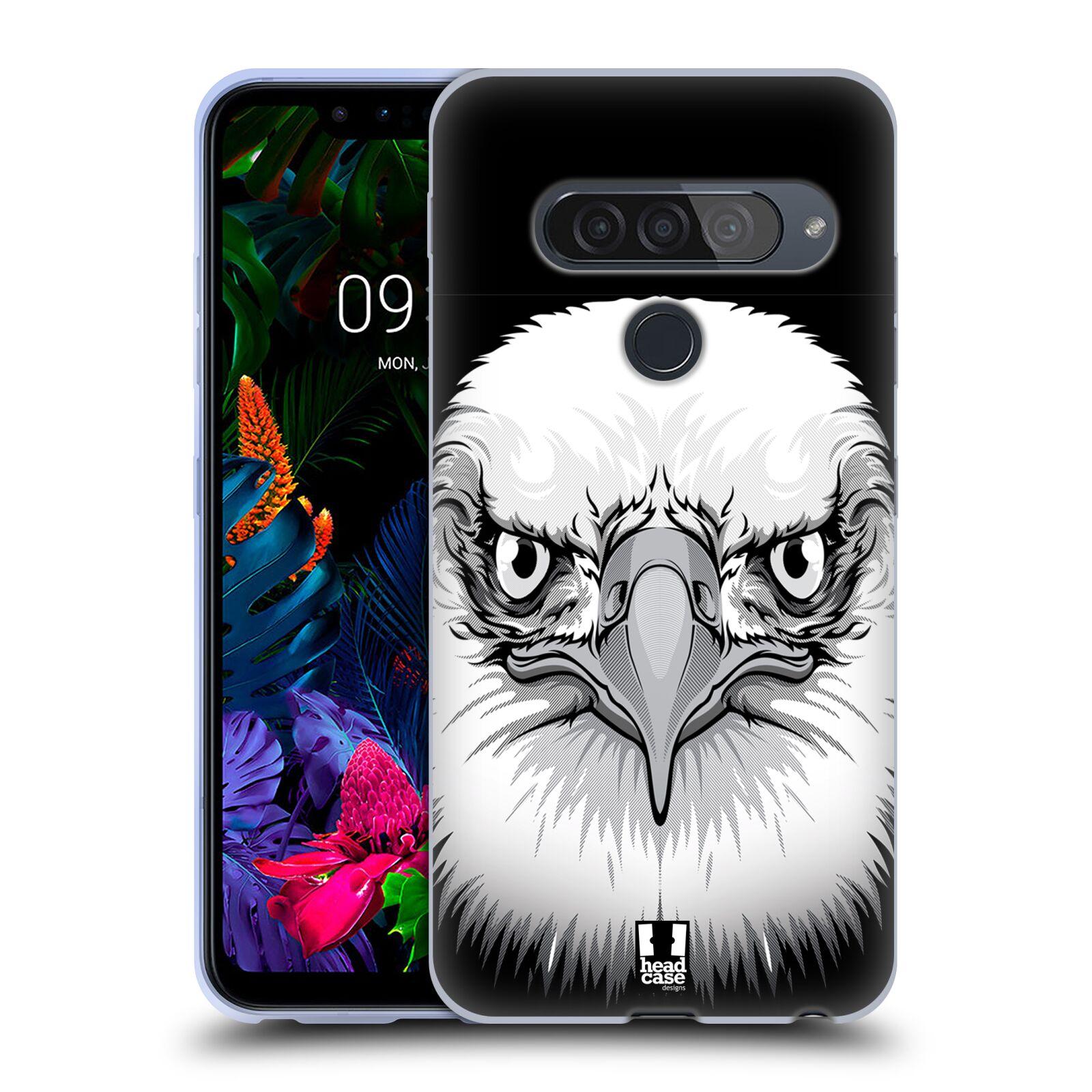 Silikonové pouzdro na mobil LG G8s ThinQ - Head Case - ILUSTROVANÝ OREL