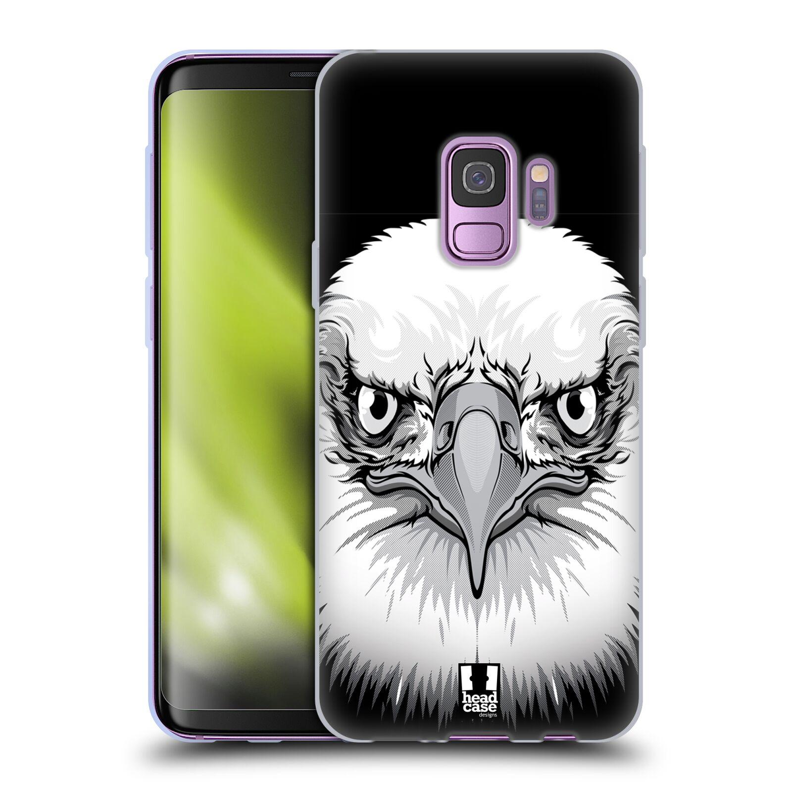 Silikonové pouzdro na mobil Samsung Galaxy S9 - Head Case - ILUSTROVANÝ OREL