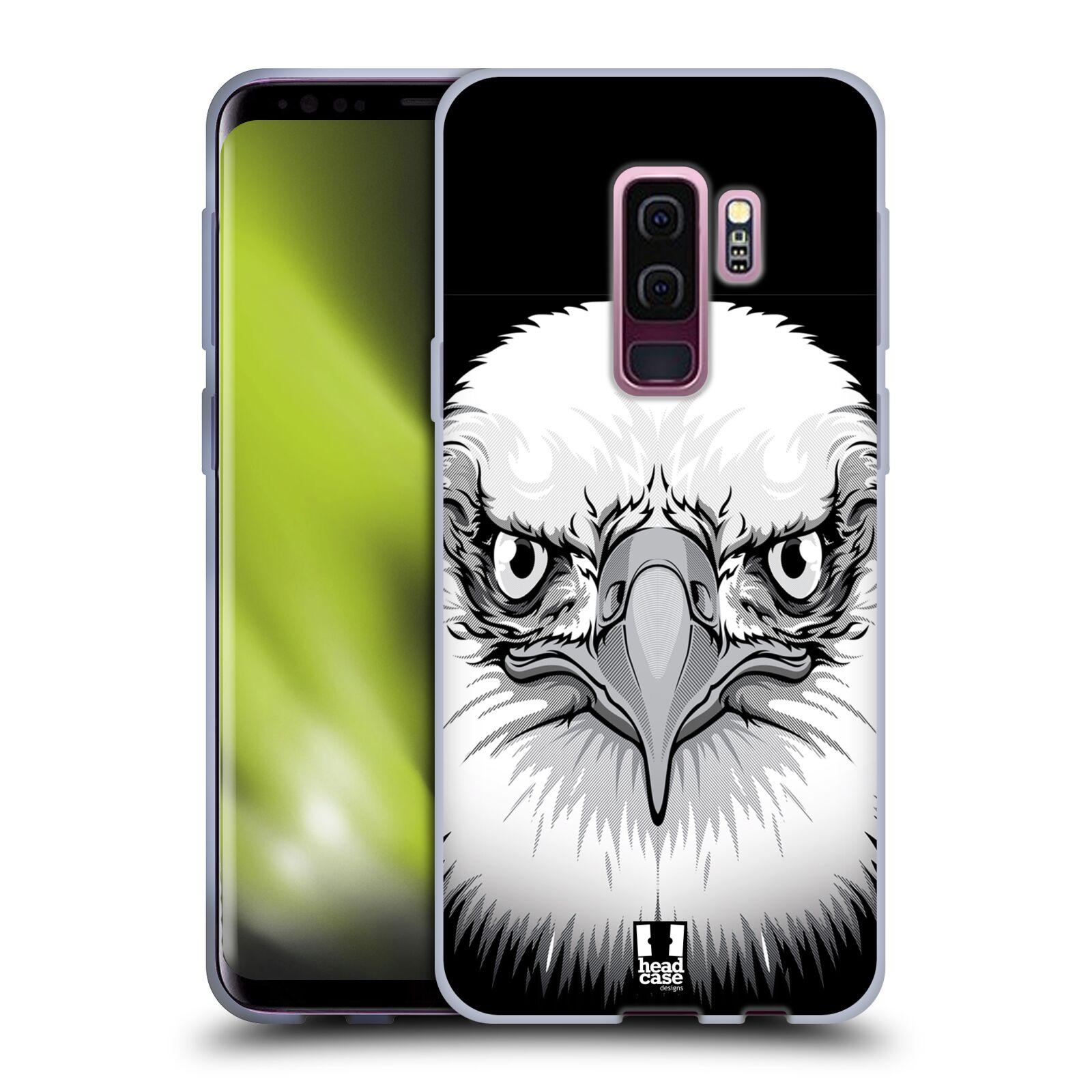 Silikonové pouzdro na mobil Samsung Galaxy S9 Plus - Head Case - ILUSTROVANÝ OREL