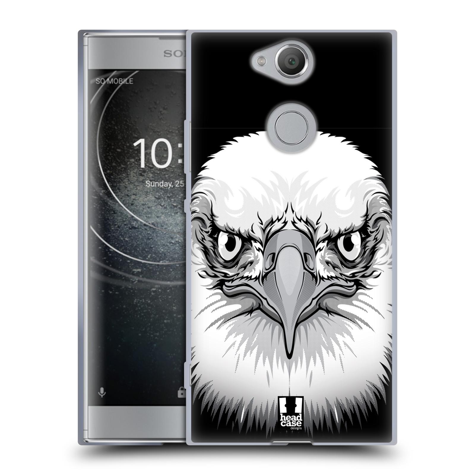 Silikonové pouzdro na mobil Sony Xperia XA2 - Head Case - ILUSTROVANÝ OREL