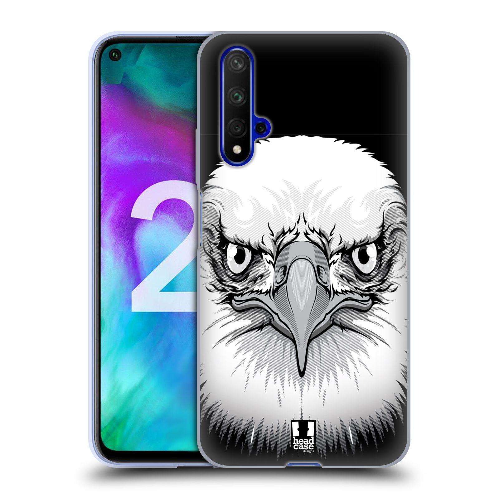 Silikonové pouzdro na mobil Honor 20 - Head Case - ILUSTROVANÝ OREL