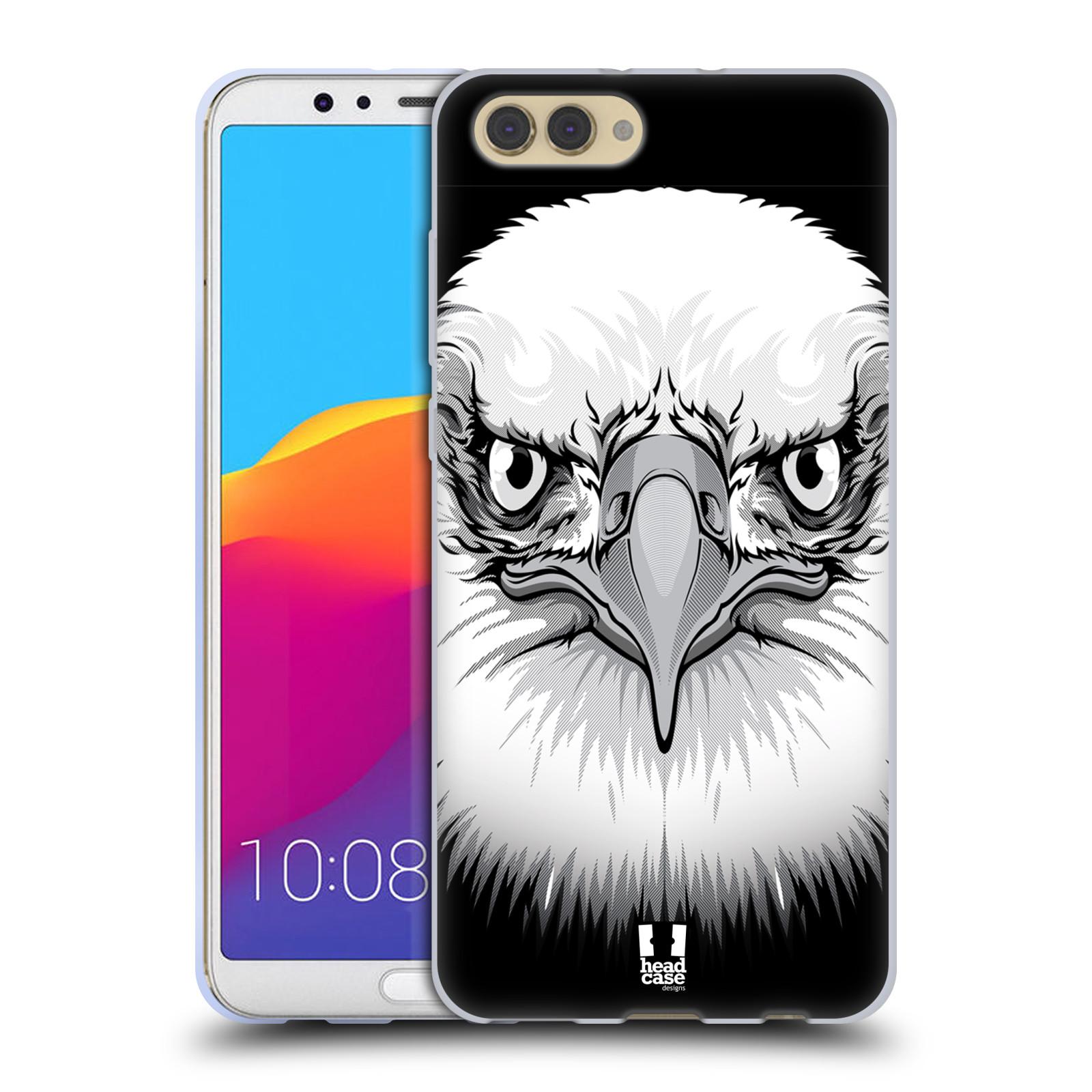 Silikonové pouzdro na mobil Honor View 10 - Head Case - ILUSTROVANÝ OREL