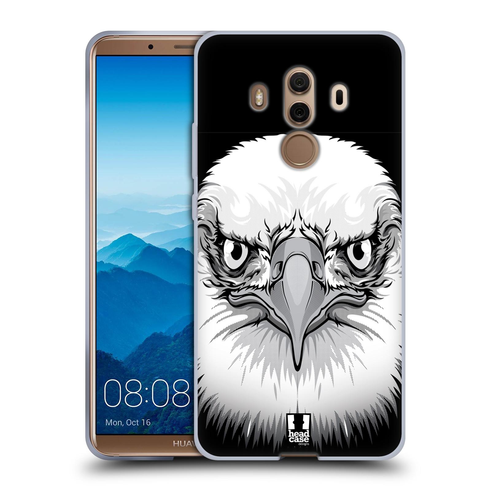 Silikonové pouzdro na mobil Huawei Mate 10 Pro - Head Case - ILUSTROVANÝ OREL