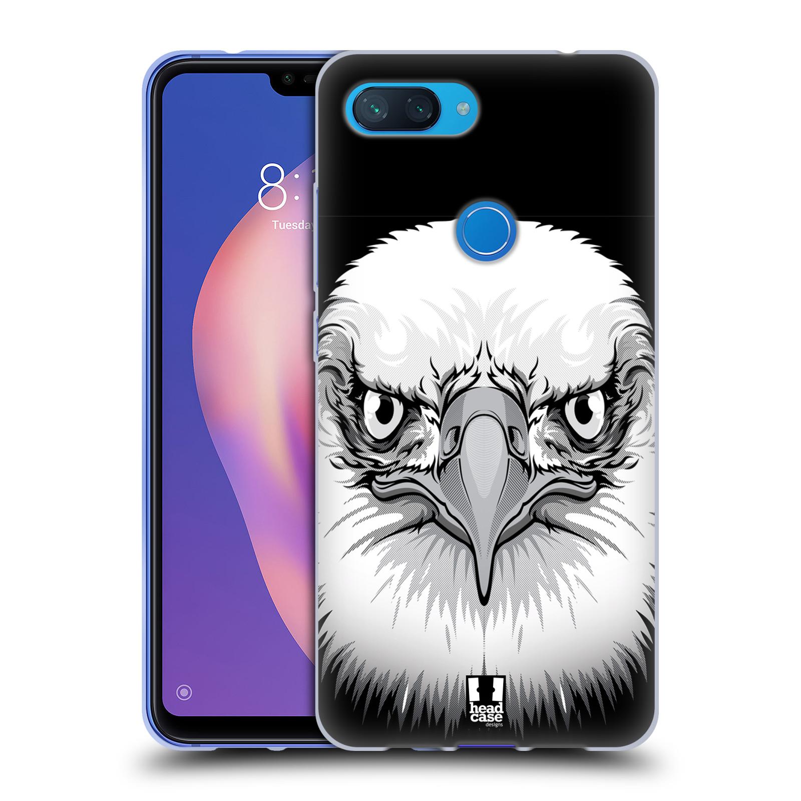 Silikonové pouzdro na mobil Xiaomi Mi 8 Lite - Head Case - ILUSTROVANÝ OREL
