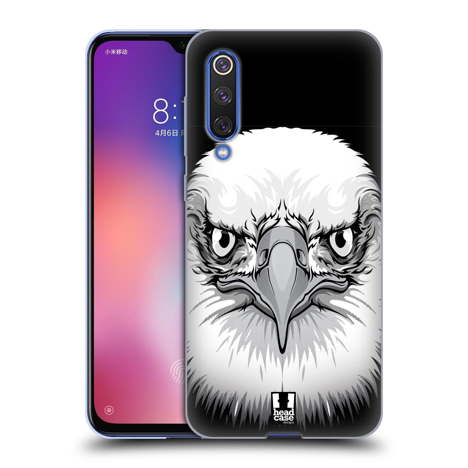 Silikonové pouzdro na mobil Xiaomi Mi 9 SE - Head Case - ILUSTROVANÝ OREL