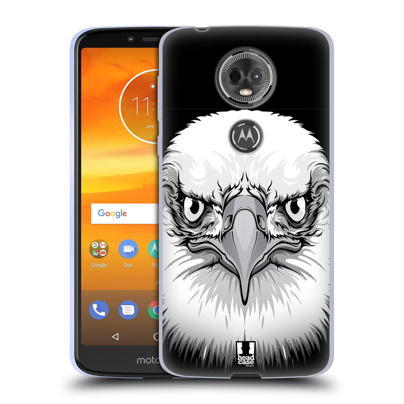 Silikonové pouzdro na mobil Motorola Moto E5 Plus - Head Case - ILUSTROVANÝ OREL