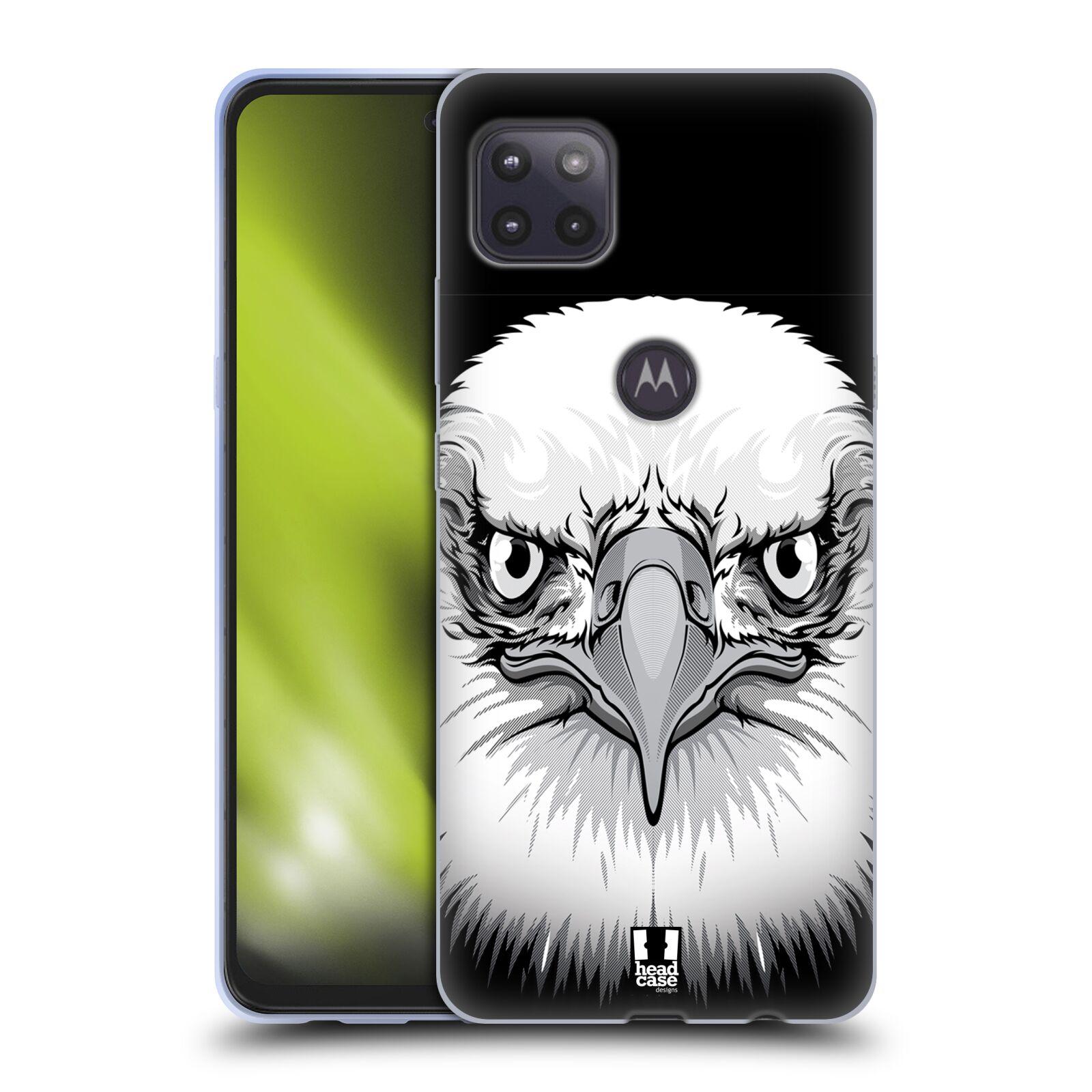 Silikonové pouzdro na mobil Motorola Moto G 5G - Head Case - ILUSTROVANÝ OREL