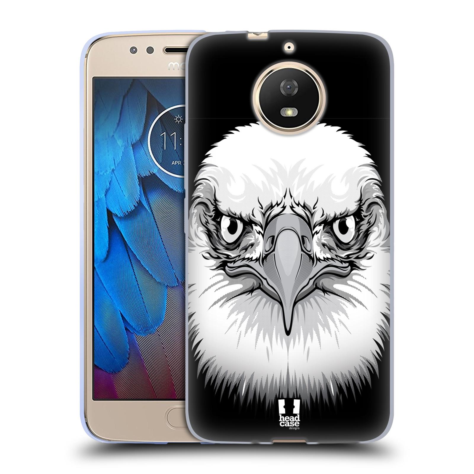 Silikonové pouzdro na mobil Lenovo Moto G5s - Head Case - ILUSTROVANÝ OREL