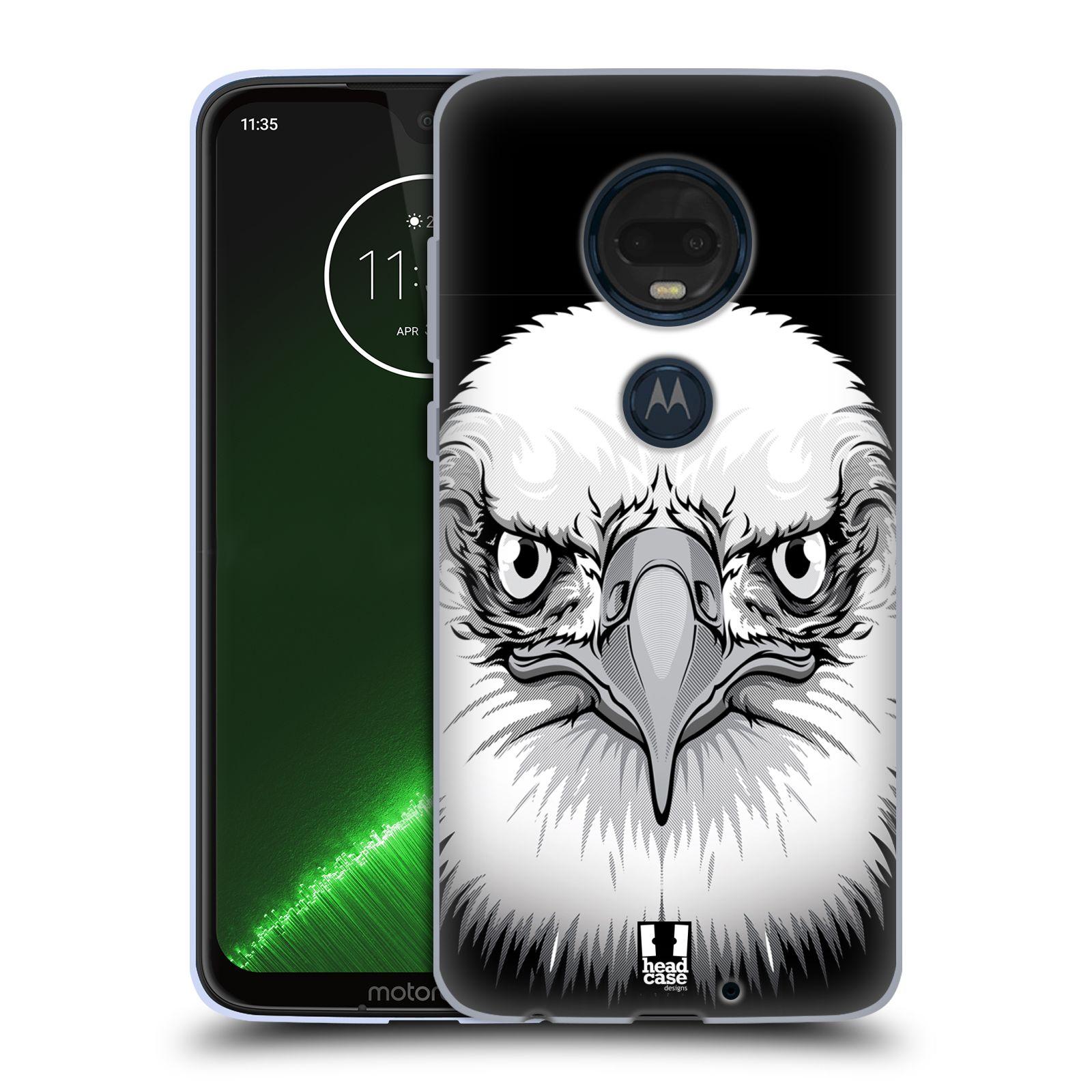 Silikonové pouzdro na mobil Motorola Moto G7 Plus - Head Case - ILUSTROVANÝ OREL