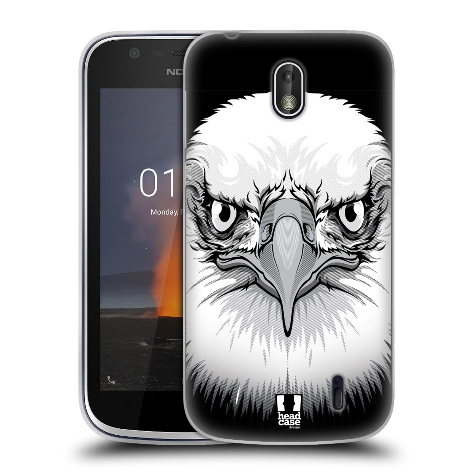 Silikonové pouzdro na mobil Nokia 1 - Head Case - ILUSTROVANÝ OREL