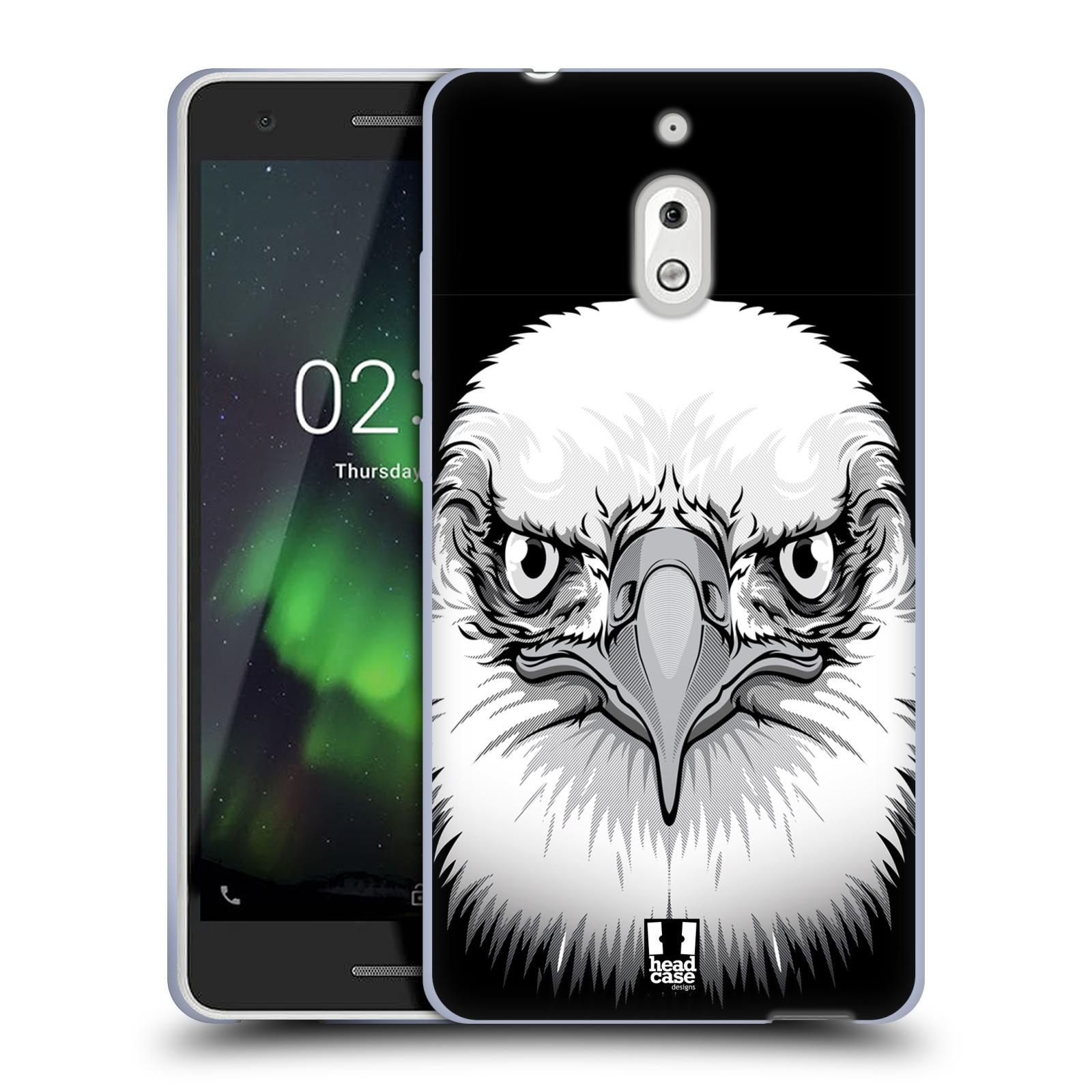 Silikonové pouzdro na mobil Nokia 2.1 - Head Case - ILUSTROVANÝ OREL