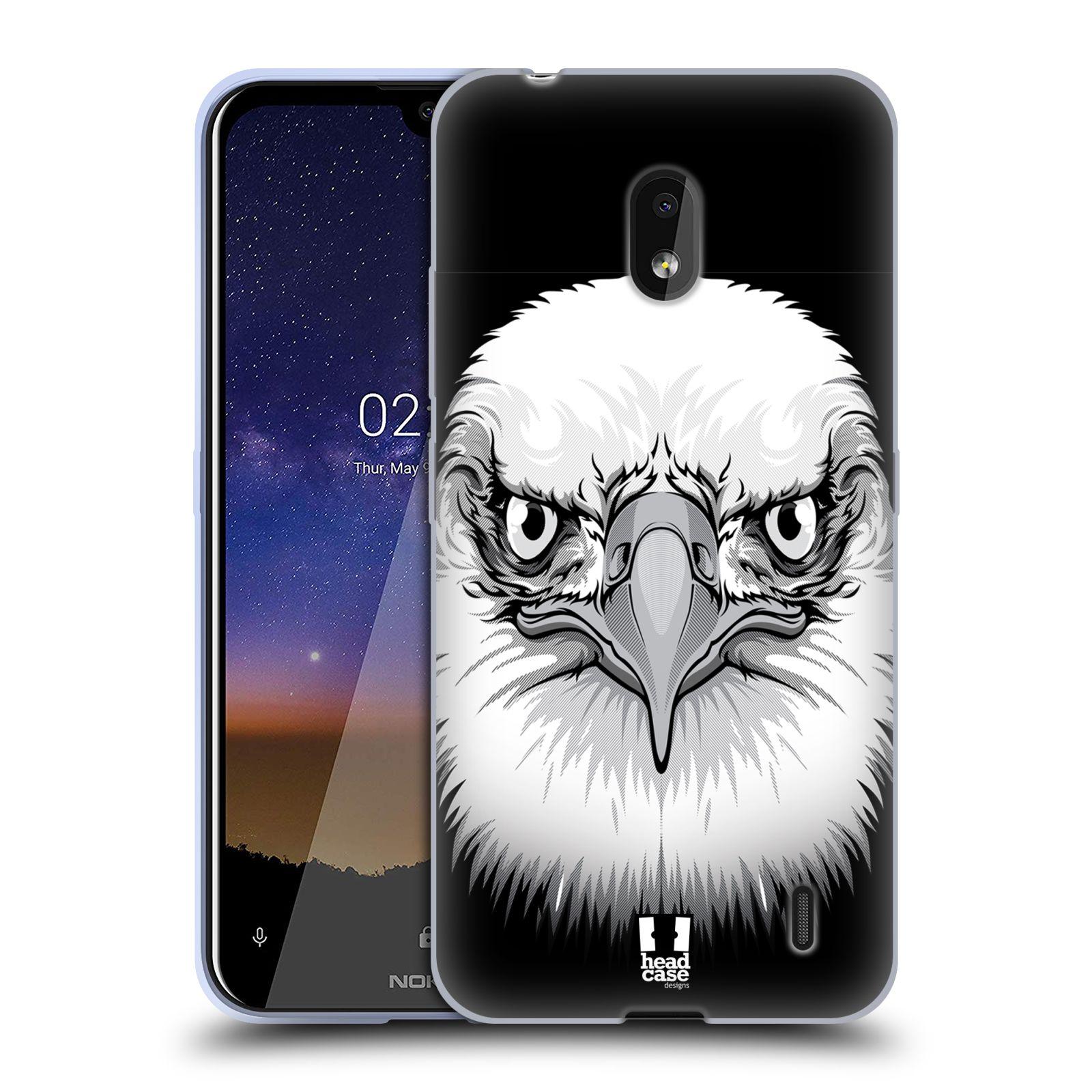 Silikonové pouzdro na mobil Nokia 2.2 - Head Case - ILUSTROVANÝ OREL