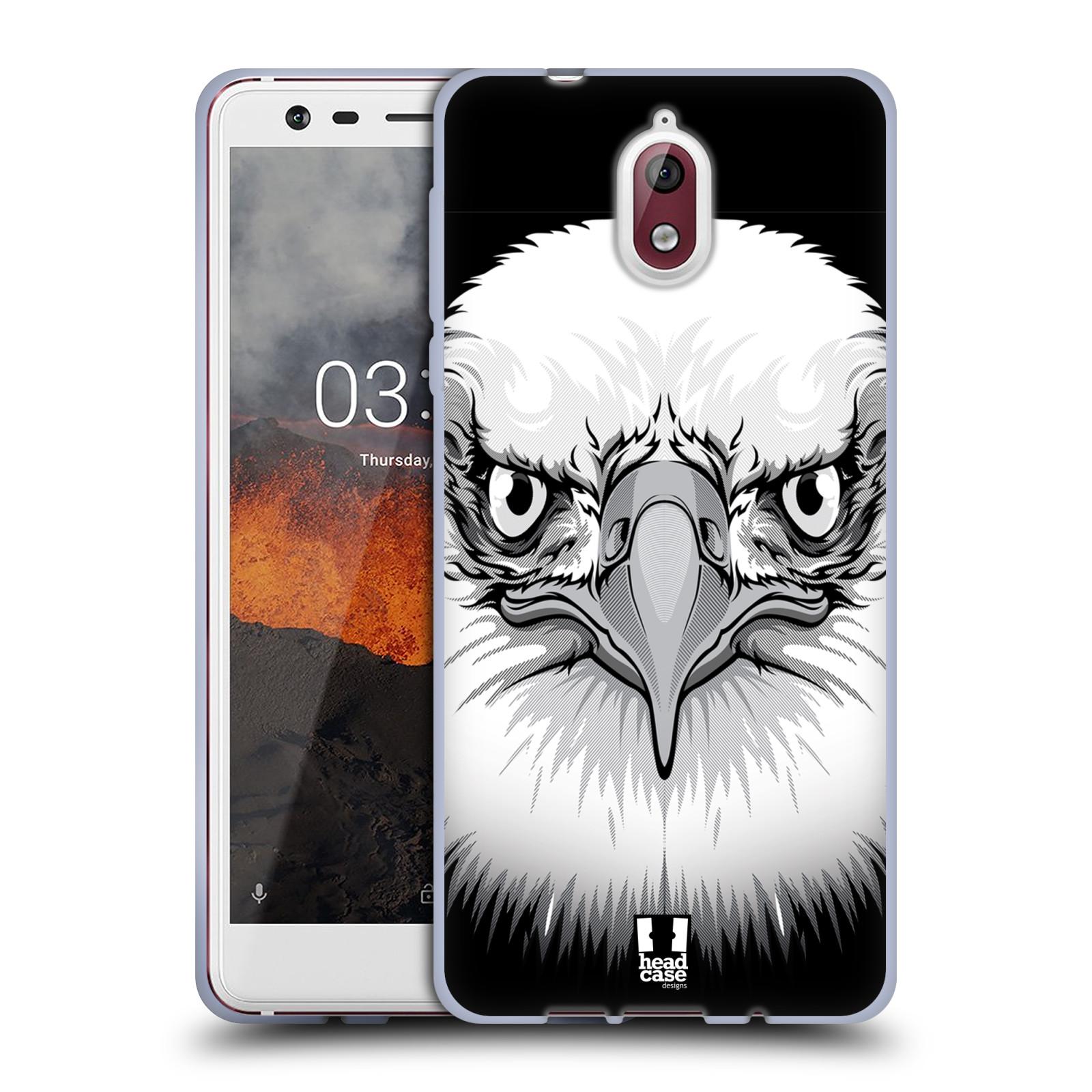 Silikonové pouzdro na mobil Nokia 3.1 - Head Case - ILUSTROVANÝ OREL