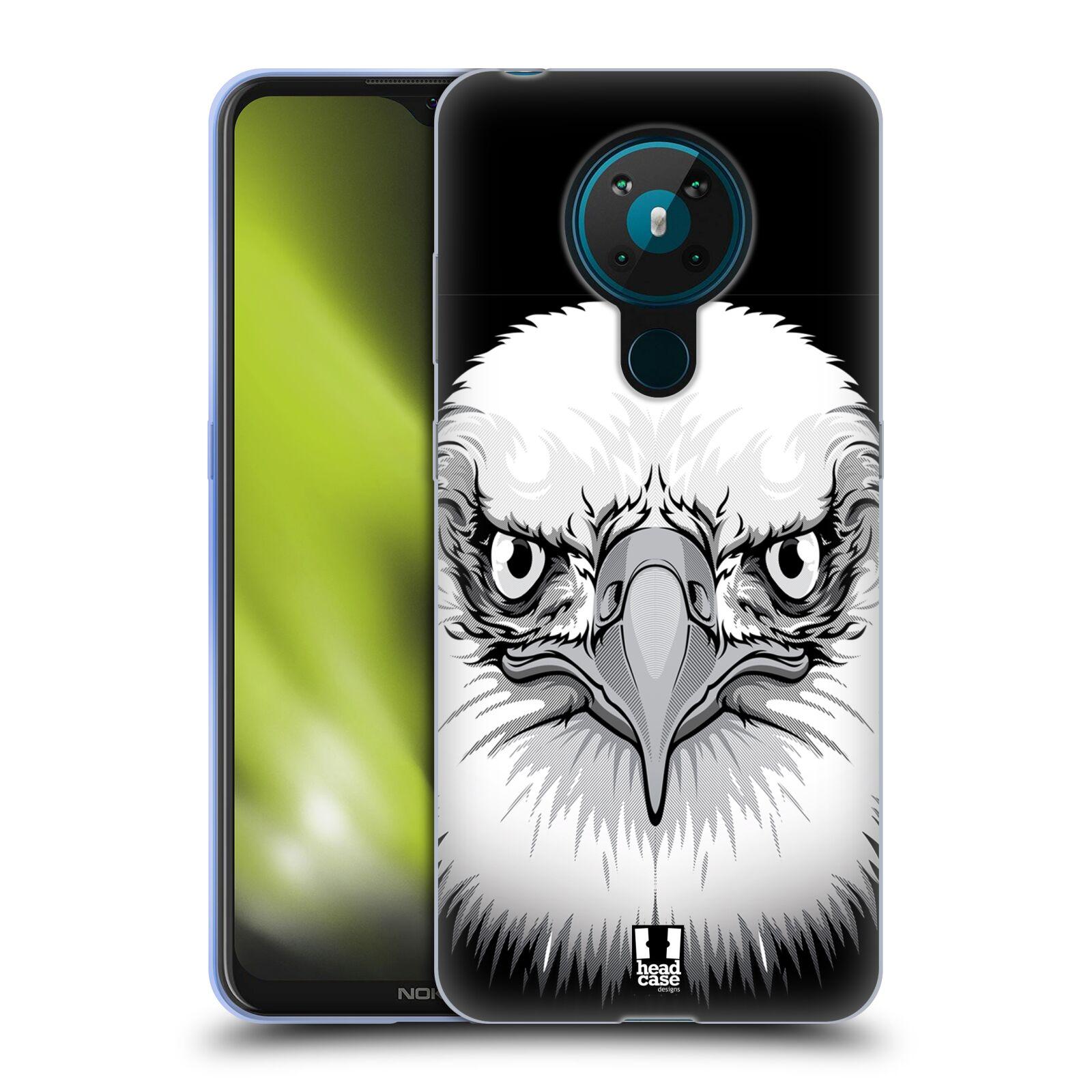 Silikonové pouzdro na mobil Nokia 5.3 - Head Case - ILUSTROVANÝ OREL