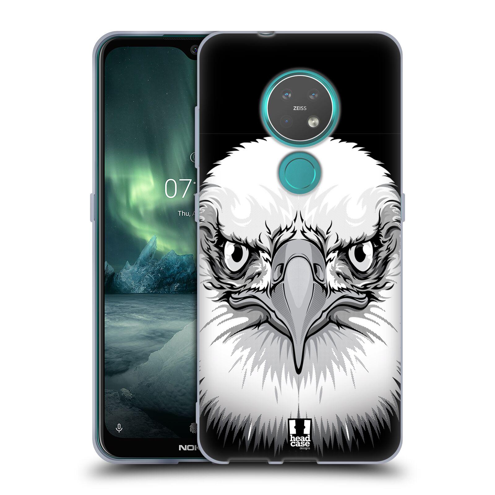 Silikonové pouzdro na mobil Nokia 7.2 - Head Case - ILUSTROVANÝ OREL