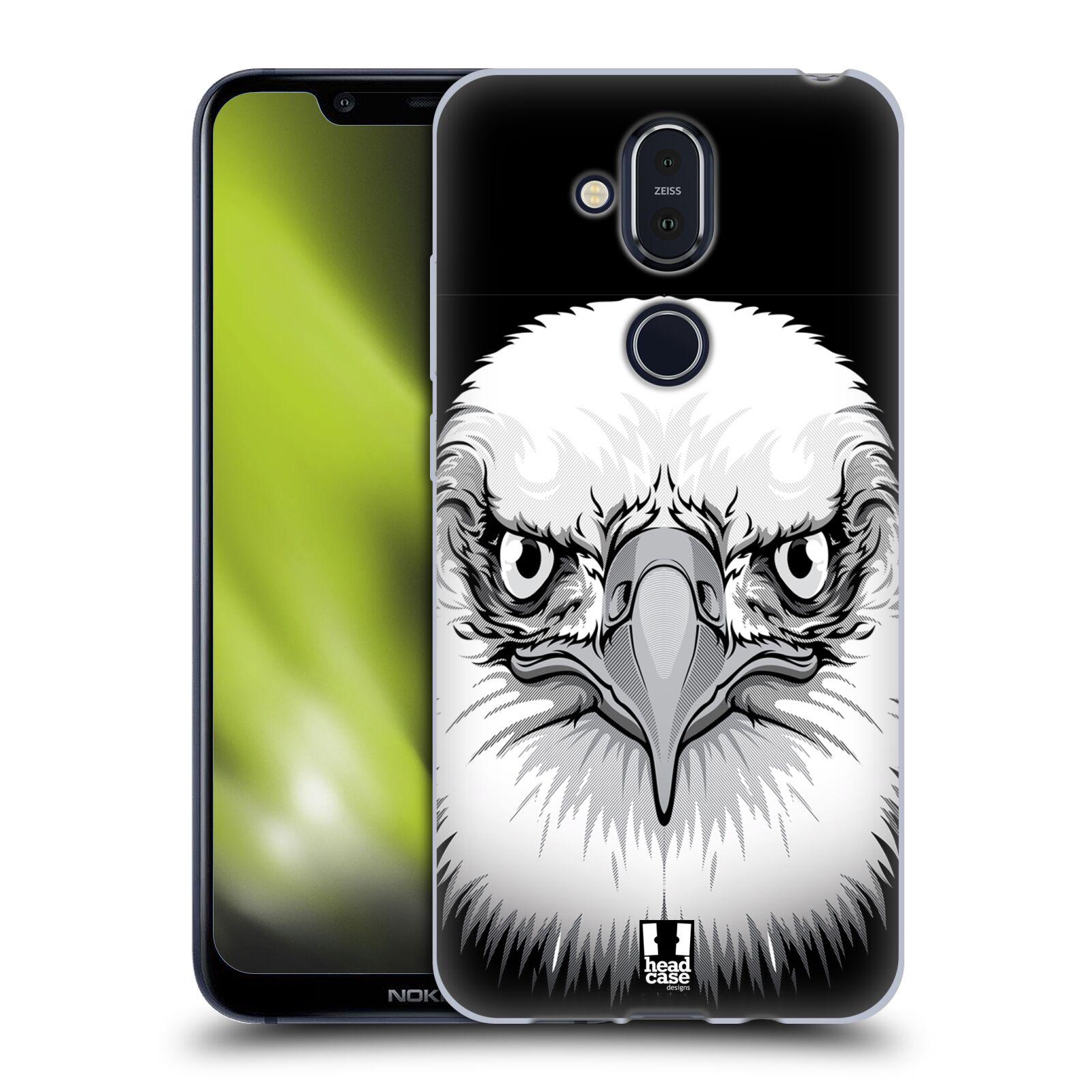 Silikonové pouzdro na mobil Nokia 8.1 - Head Case - ILUSTROVANÝ OREL