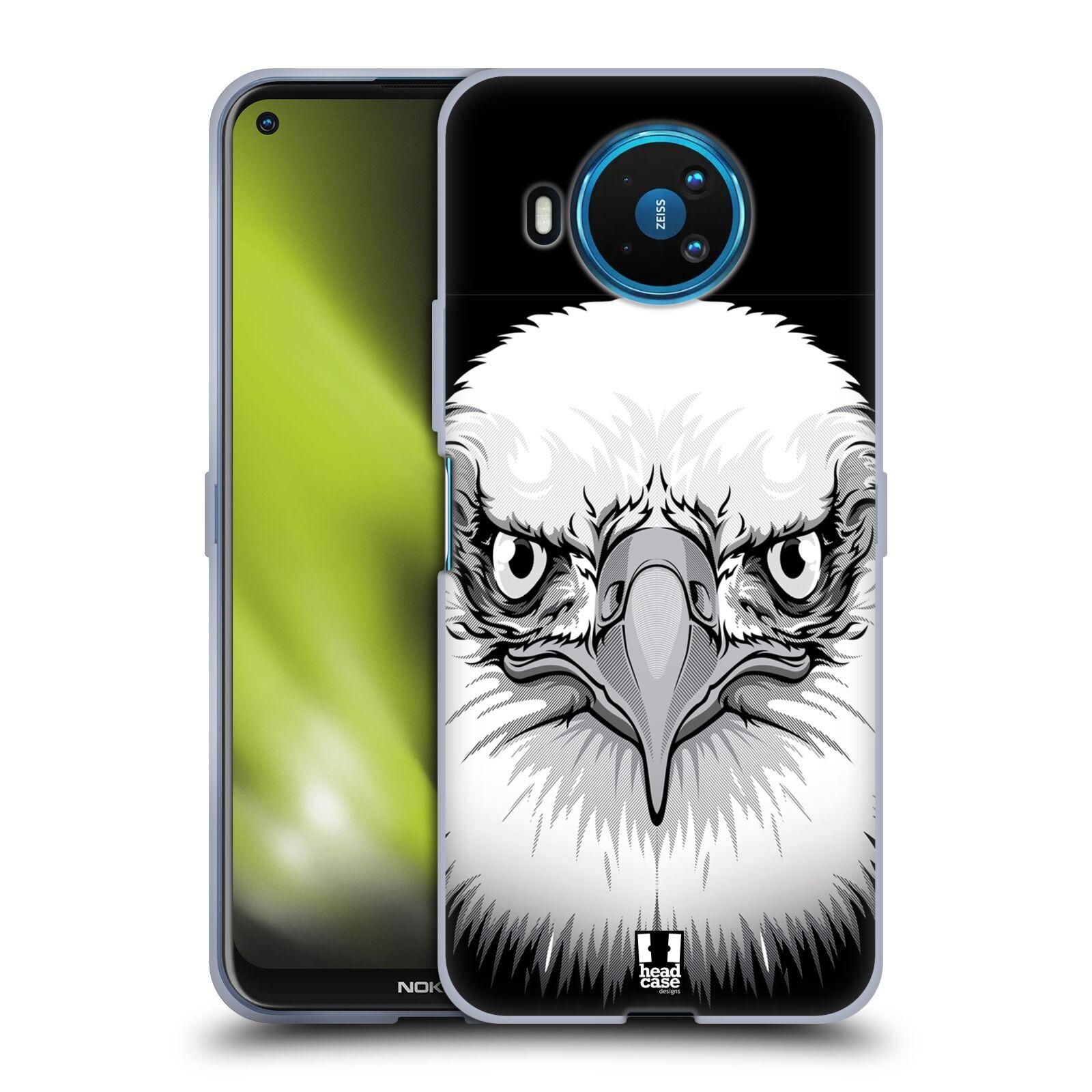 Silikonové pouzdro na mobil Nokia 8.3 5G - Head Case - ILUSTROVANÝ OREL