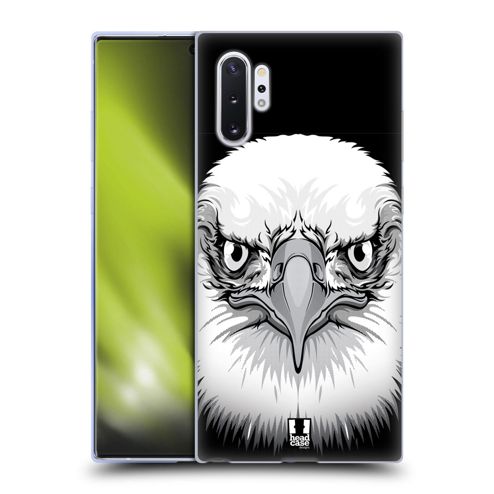 Silikonové pouzdro na mobil Samsung Galaxy Note 10 Plus - Head Case - ILUSTROVANÝ OREL