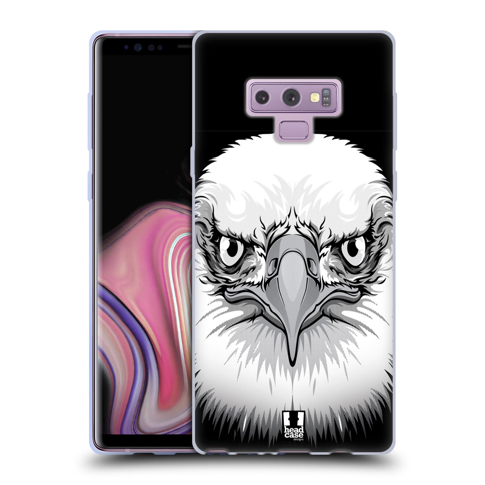 Silikonové pouzdro na mobil Samsung Galaxy Note 9 - Head Case - ILUSTROVANÝ OREL