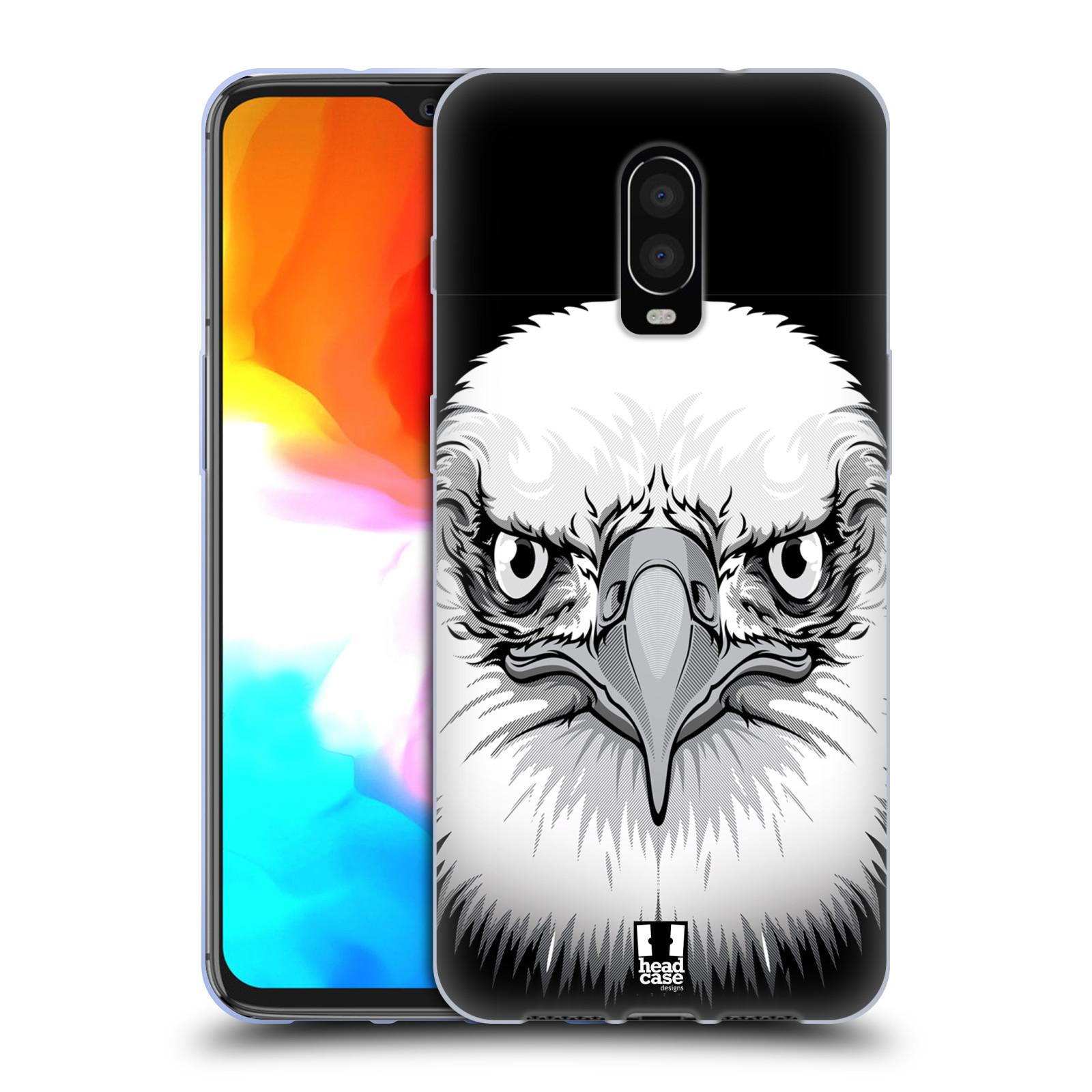 Silikonové pouzdro na mobil OnePlus 6T - Head Case - ILUSTROVANÝ OREL