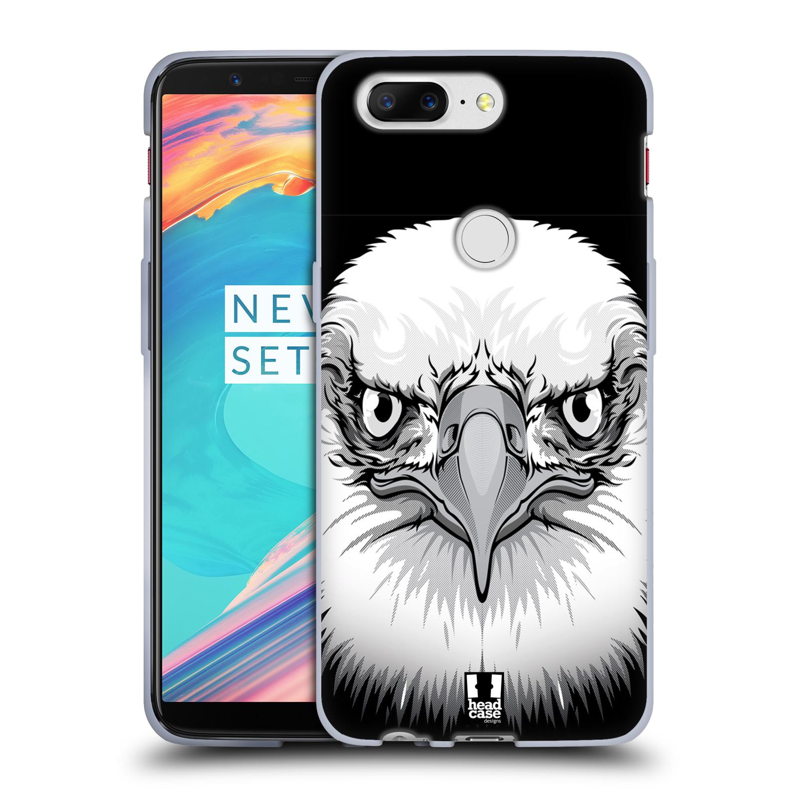 Silikonové pouzdro na mobil OnePlus 5T - Head Case - ILUSTROVANÝ OREL