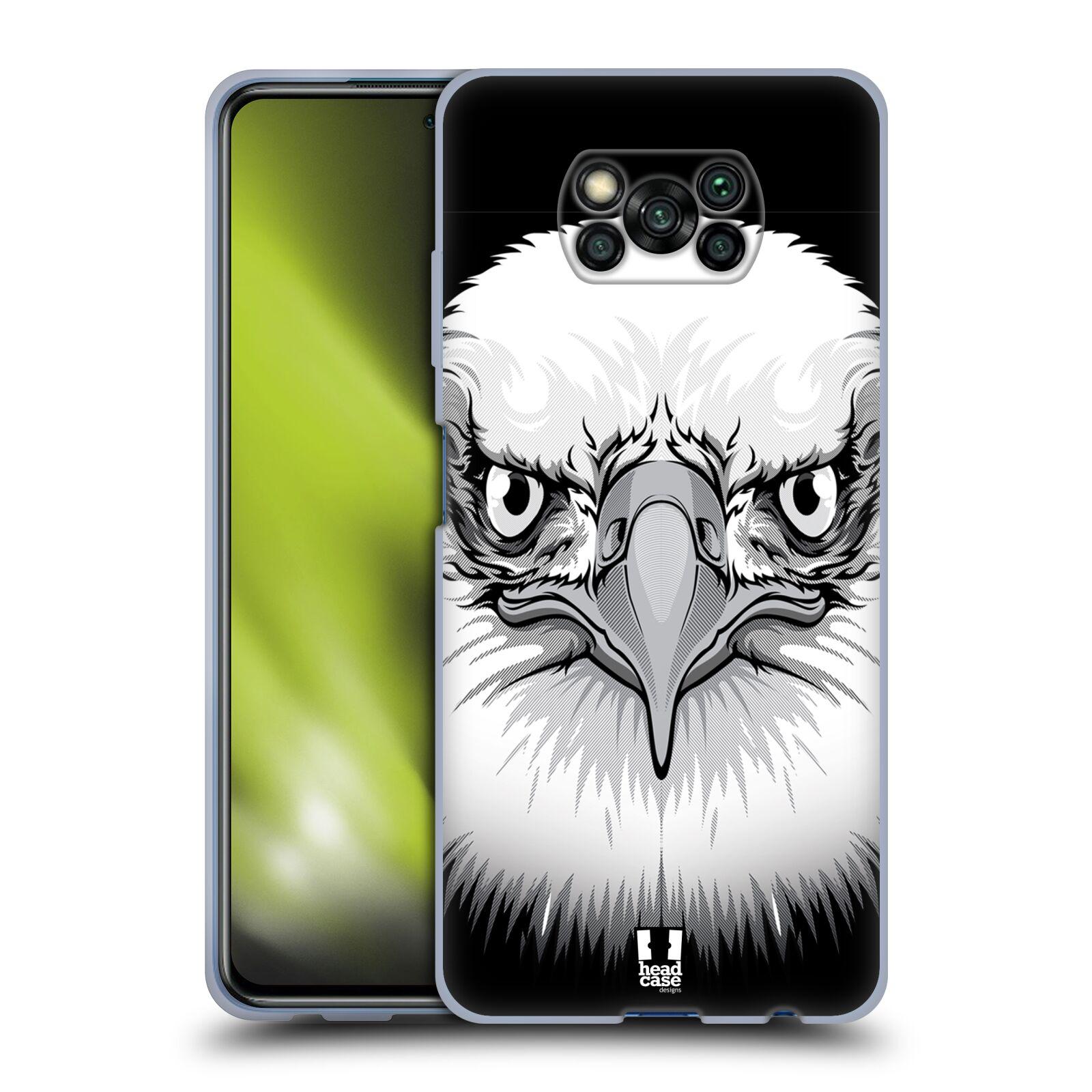 Silikonové pouzdro na mobil Xiaomi Poco X3 NFC - Head Case - ILUSTROVANÝ OREL