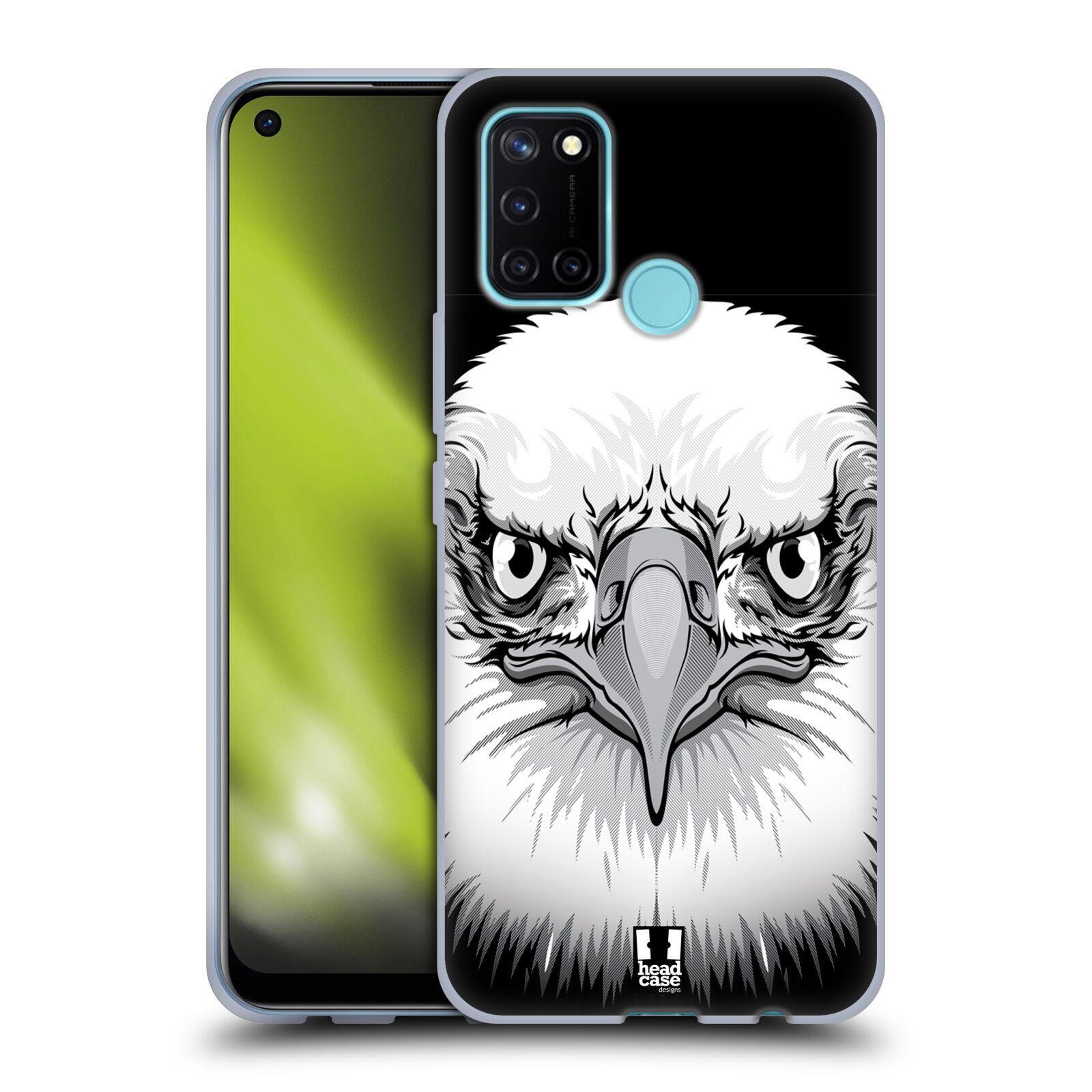 Silikonové pouzdro na mobil Realme 7i - Head Case - ILUSTROVANÝ OREL