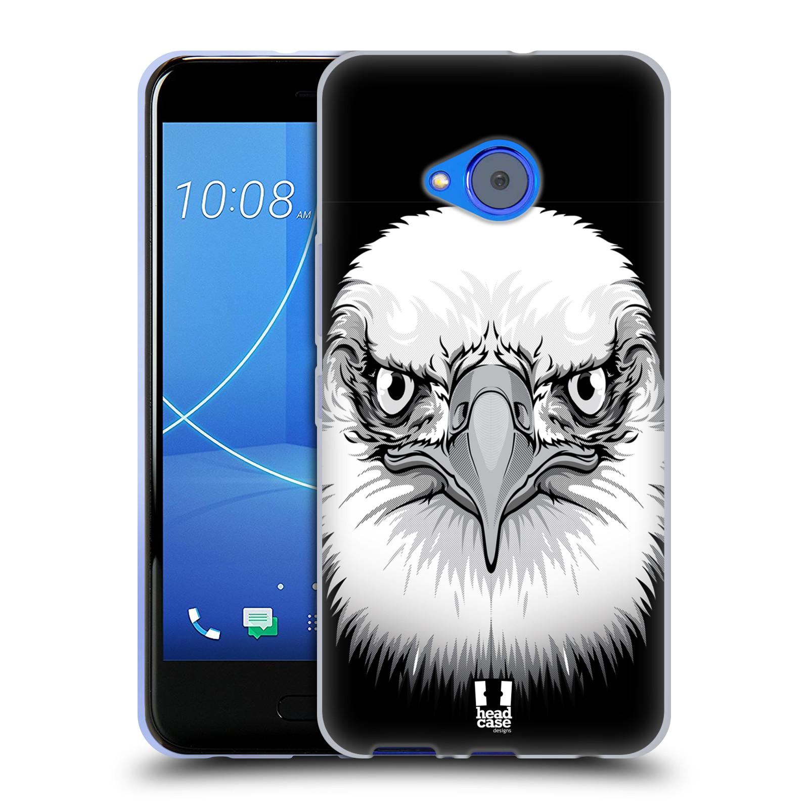 Silikonové pouzdro na mobil HTC U11 Life - Head Case - ILUSTROVANÝ OREL