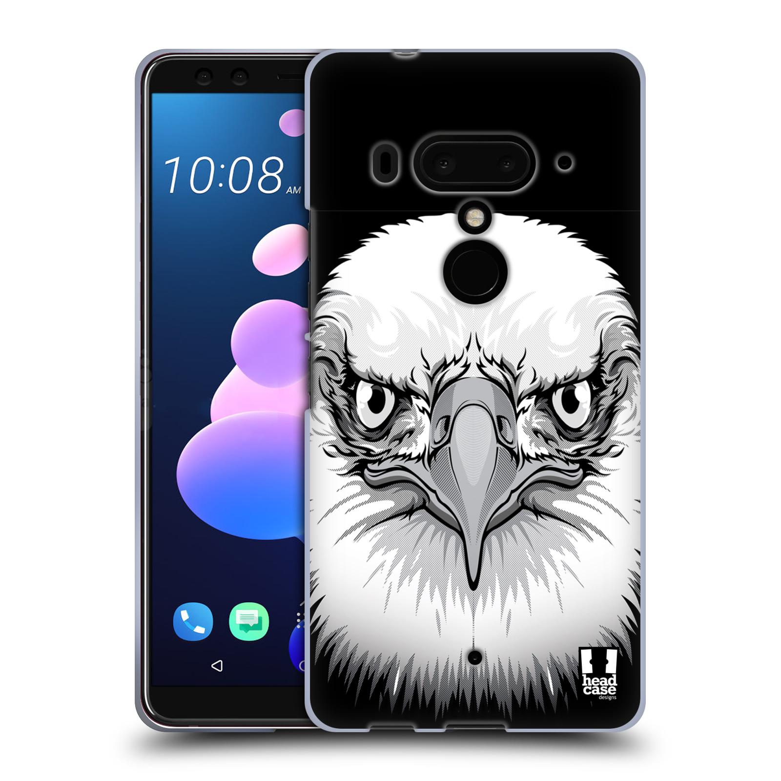 Silikonové pouzdro na mobil HTC U12 Plus - Head Case - ILUSTROVANÝ OREL