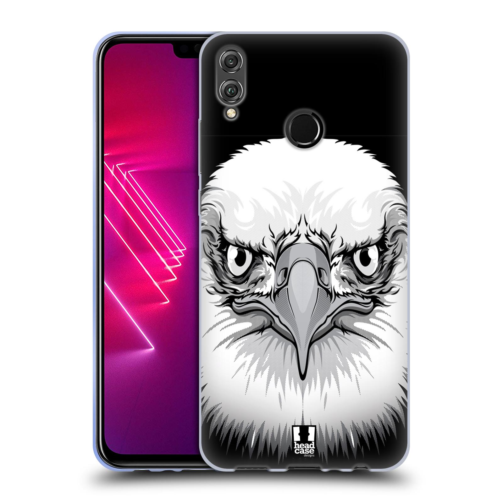 Silikonové pouzdro na mobil Honor View 10 Lite - Head Case - ILUSTROVANÝ OREL