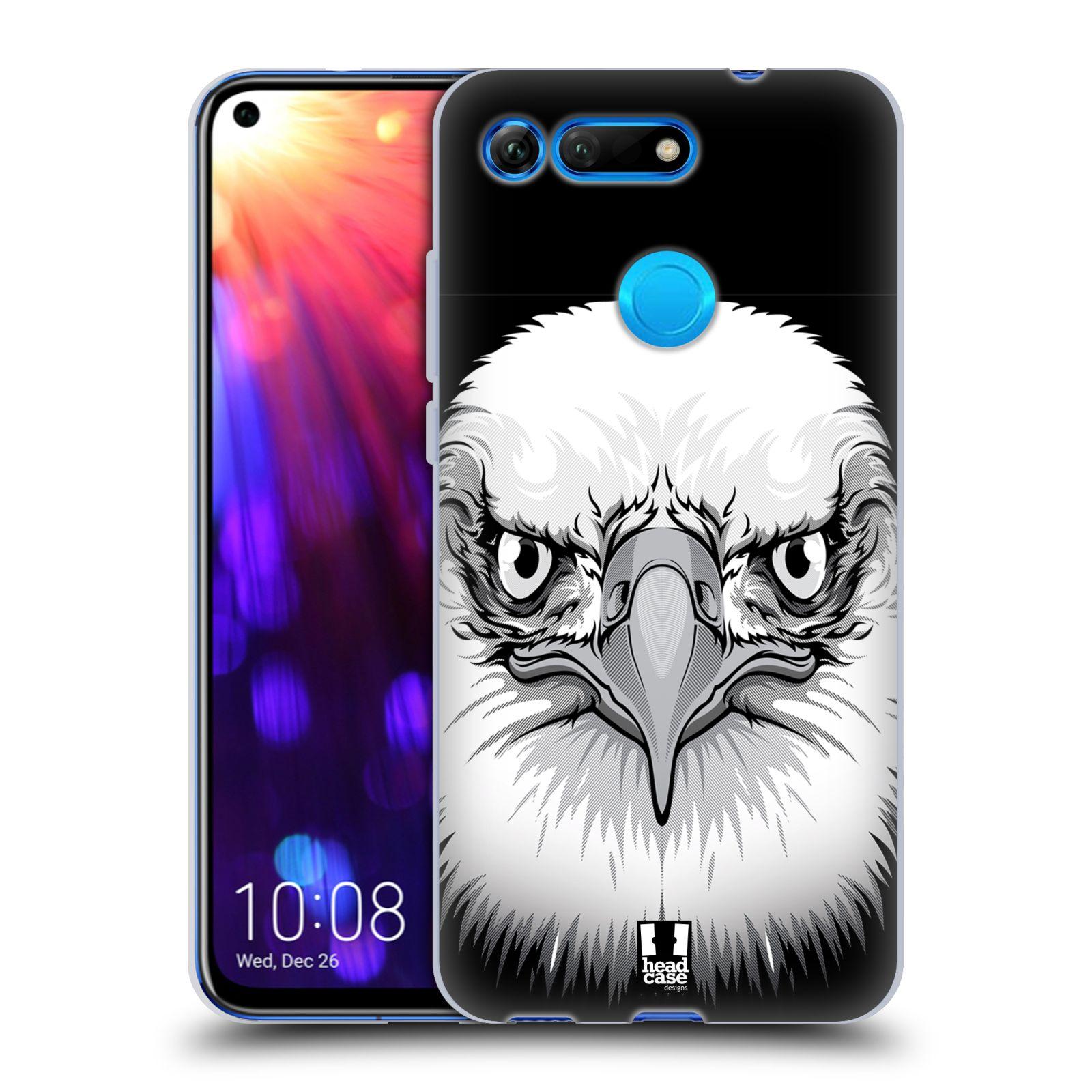 Silikonové pouzdro na mobil Honor View 20 - Head Case - ILUSTROVANÝ OREL