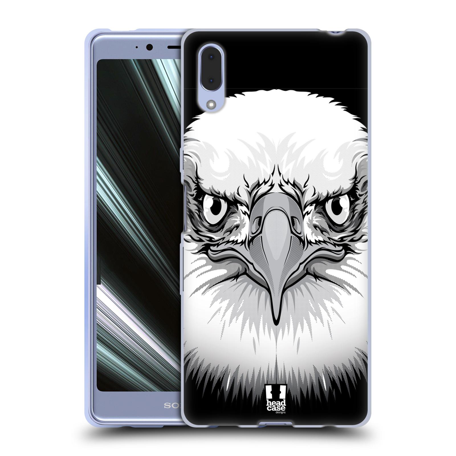 Silikonové pouzdro na mobil Sony Xperia L3 - Head Case - ILUSTROVANÝ OREL