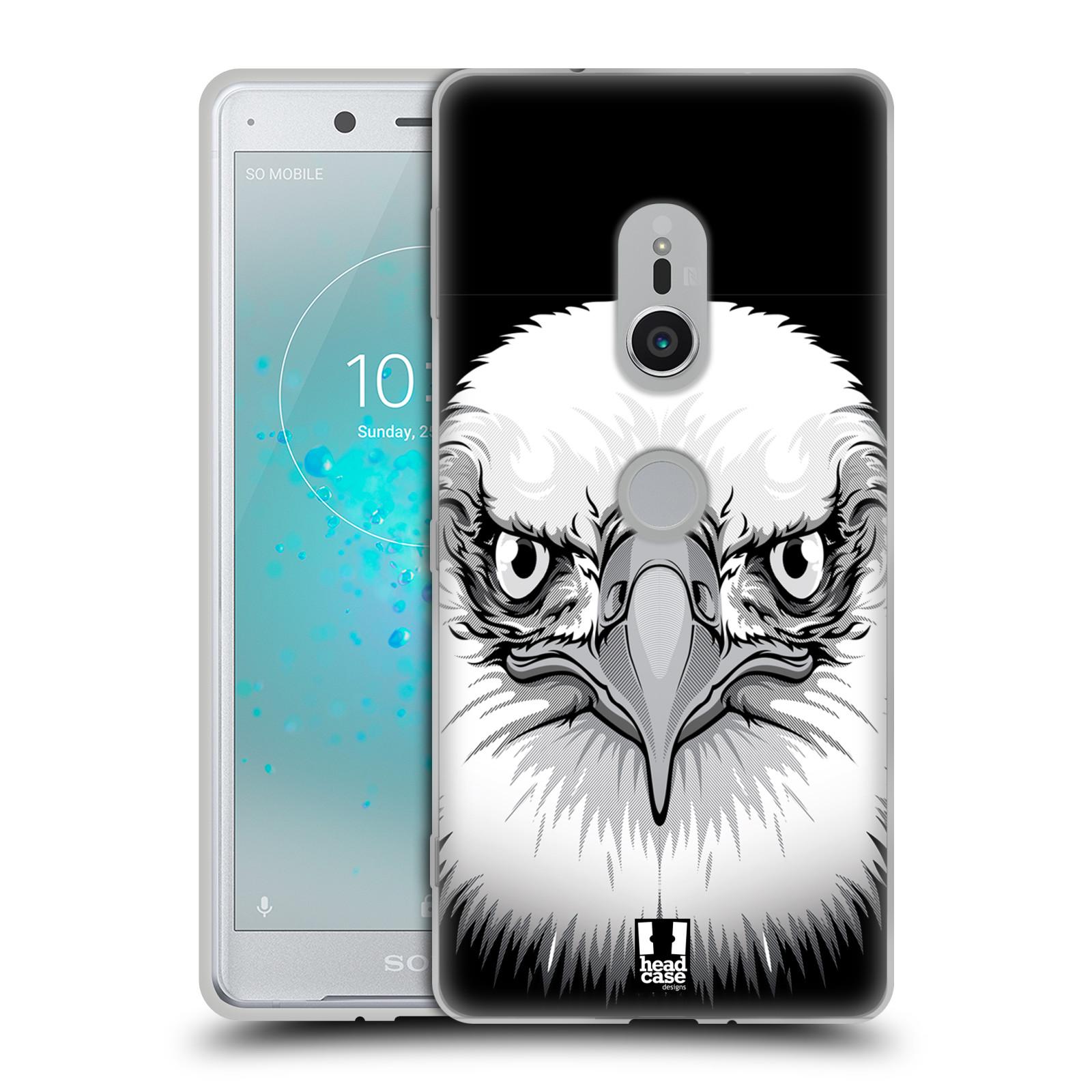 Silikonové pouzdro na mobil Sony Xperia XZ2 - Head Case - ILUSTROVANÝ OREL