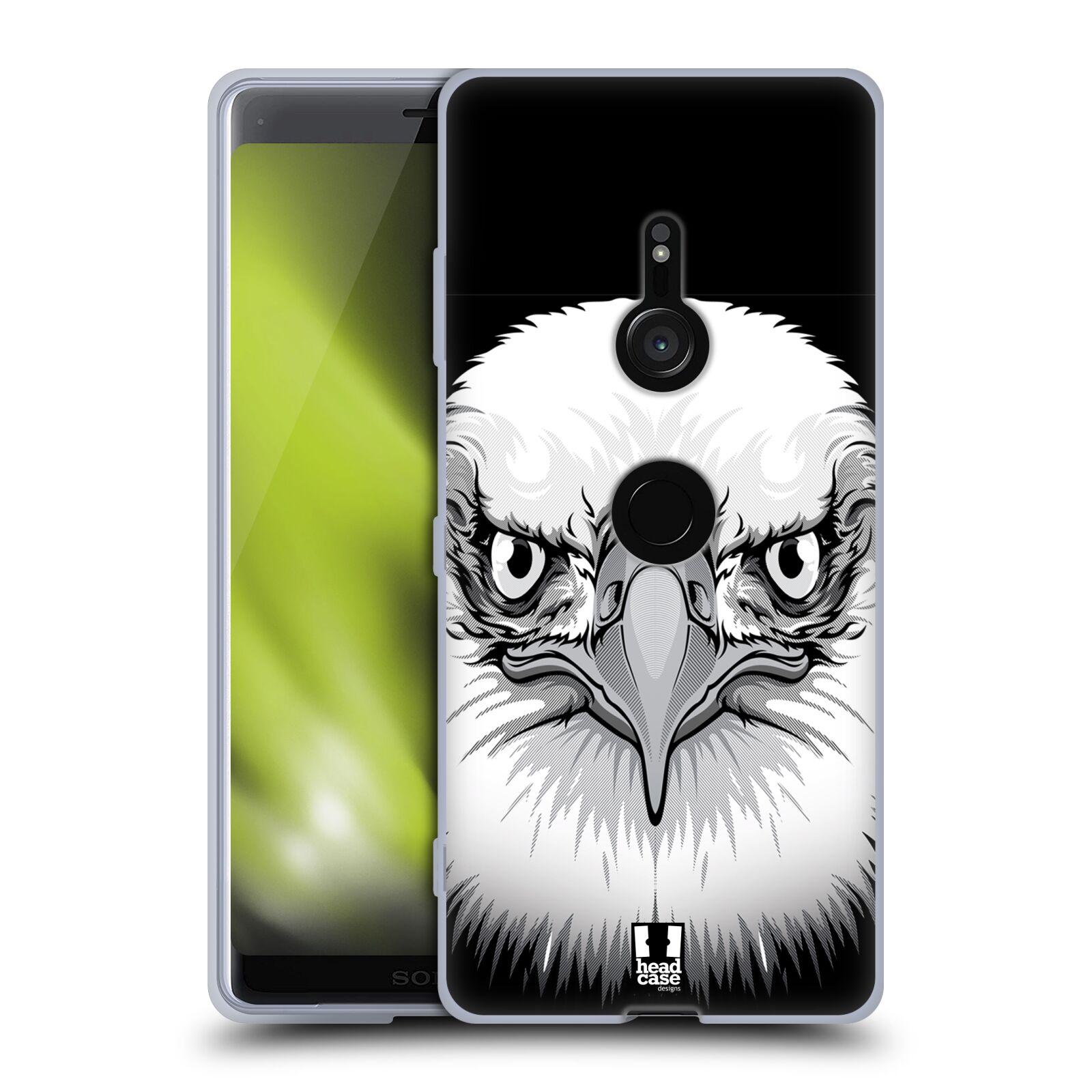 Silikonové pouzdro na mobil Sony Xperia XZ3 - Head Case - ILUSTROVANÝ OREL