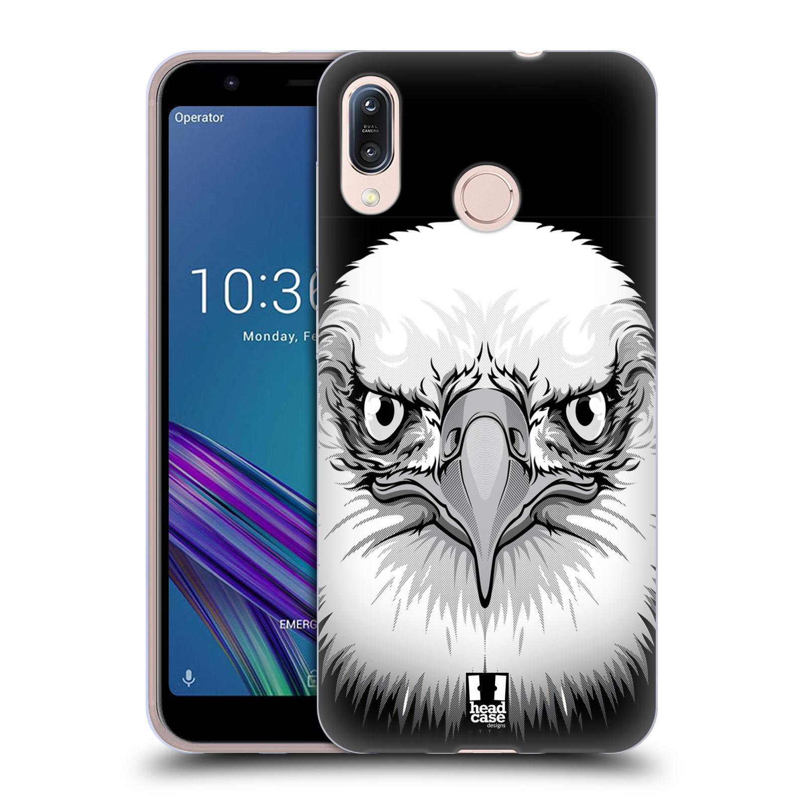 Silikonové pouzdro na mobil Asus Zenfone Max M1 ZB555KL - Head Case - ILUSTROVANÝ OREL