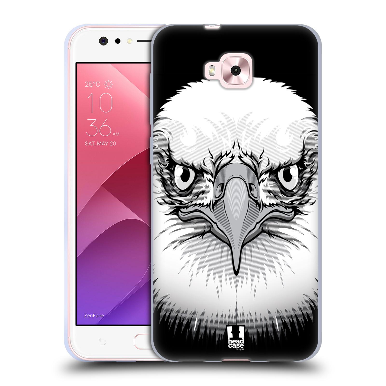 Silikonové pouzdro na mobil Asus Zenfone 4 Selfie ZD553KL - Head Case - ILUSTROVANÝ OREL