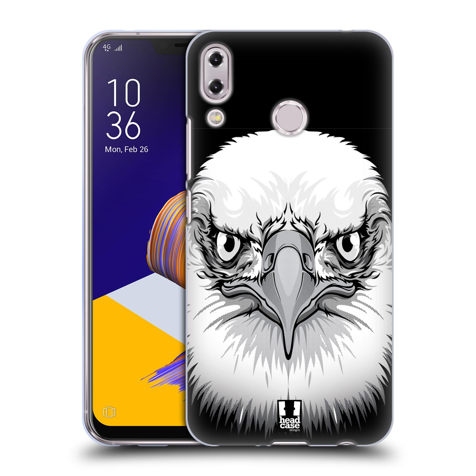 Silikonové pouzdro na mobil Asus Zenfone 5z ZS620KL - Head Case - ILUSTROVANÝ OREL