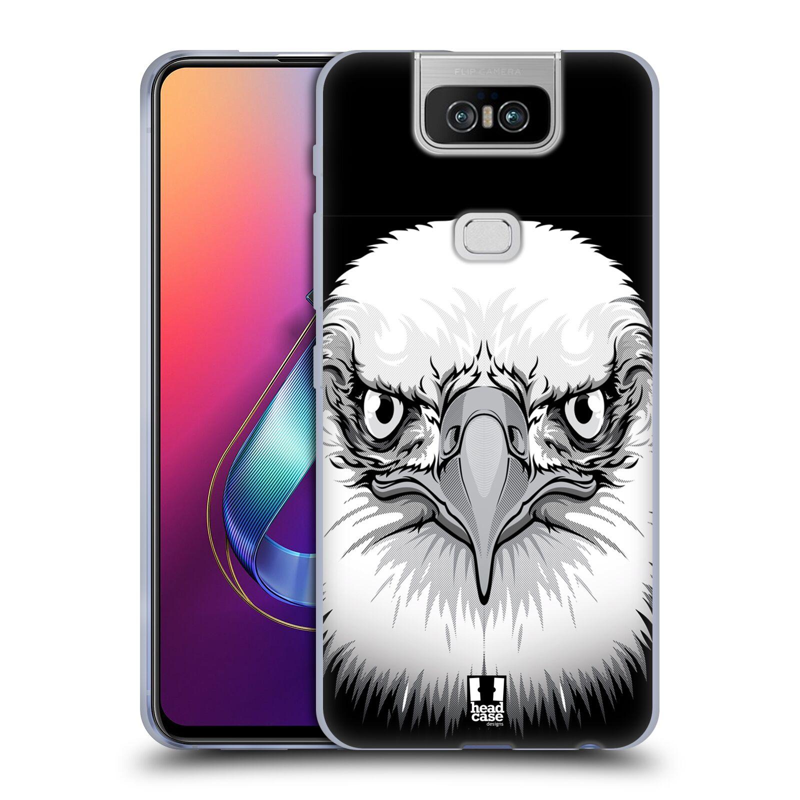 Silikonové pouzdro na mobil Asus Zenfone 6 ZS630KL - Head Case - ILUSTROVANÝ OREL