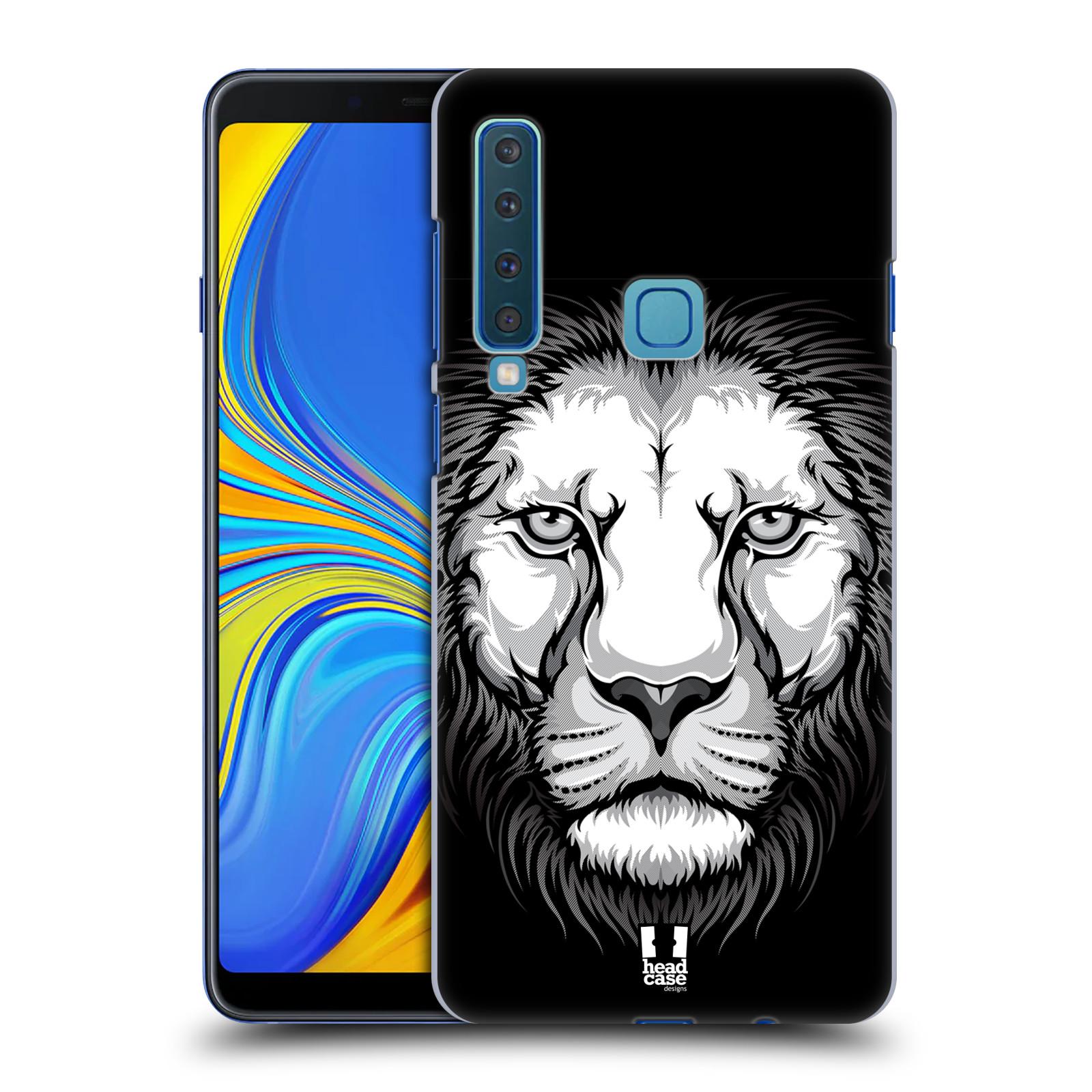 Plastové pouzdro na mobil Samsung Galaxy A9 (2018) - Head Case - ILUSTROVANÝ LEV