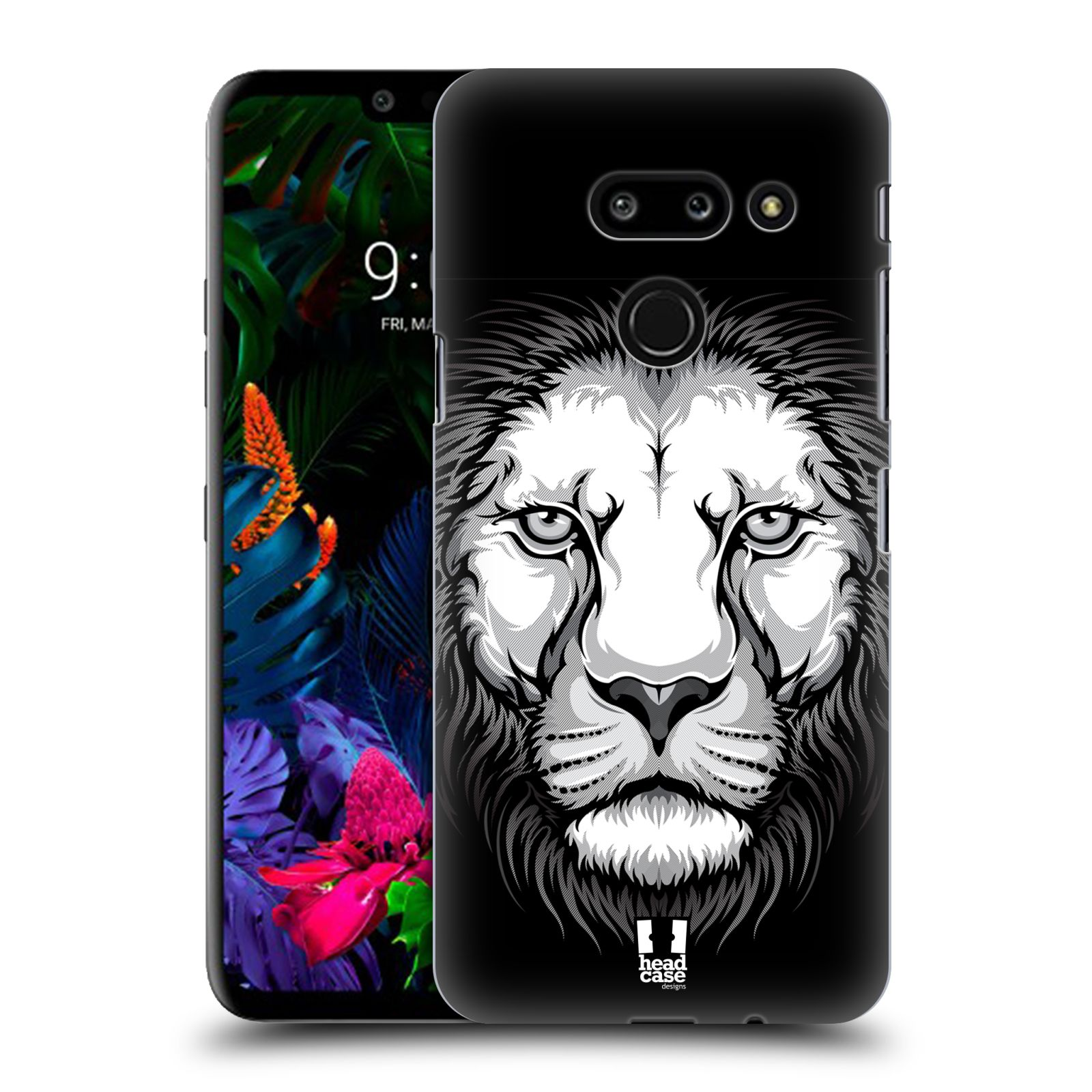 Plastové pouzdro na mobil LG G8 ThinQ - Head Case - ILUSTROVANÝ LEV