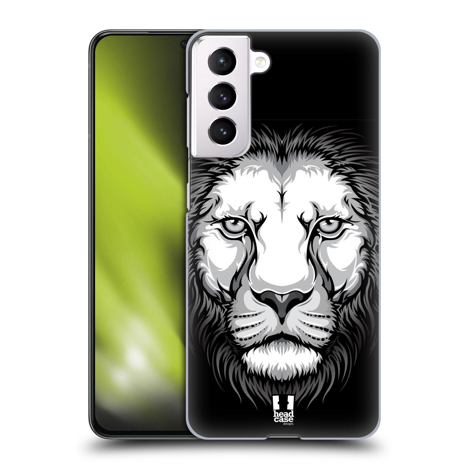 Plastové pouzdro na mobil Samsung Galaxy S21 5G - Head Case - ILUSTROVANÝ LEV