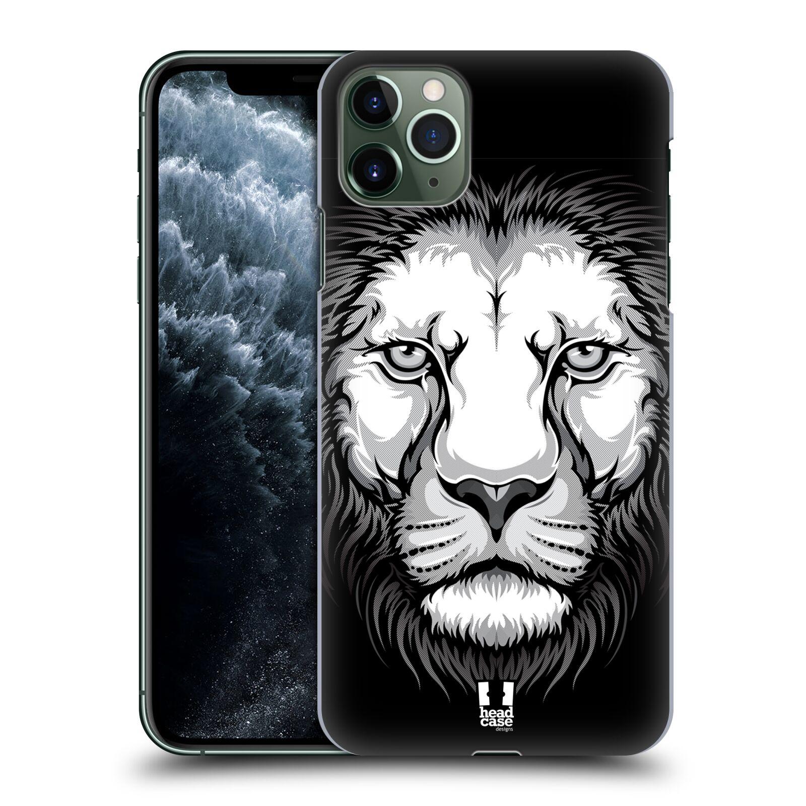 Plastové pouzdro na mobil Apple iPhone 11 Pro Max - Head Case - ILUSTROVANÝ LEV