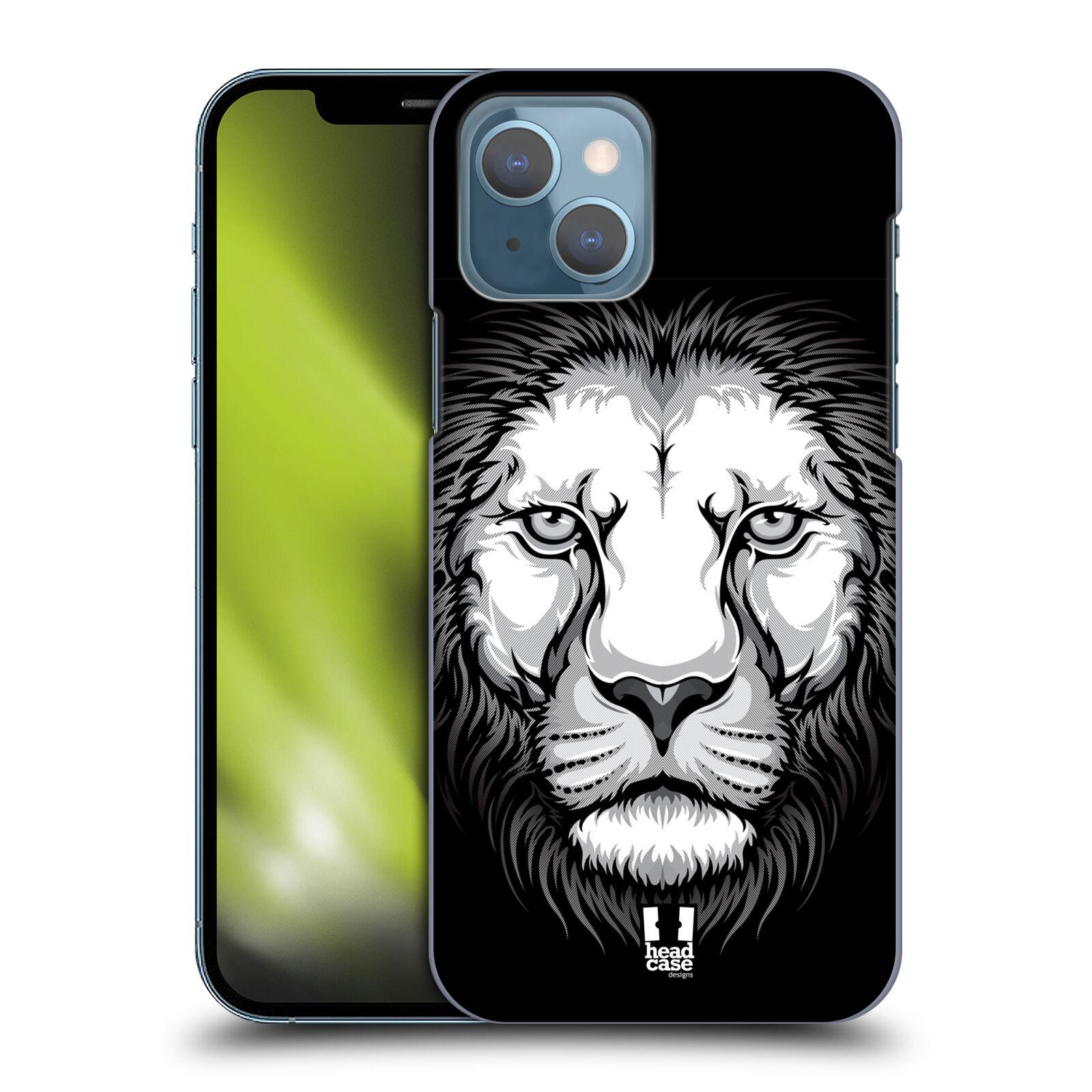 Plastové pouzdro na mobil Apple iPhone 13 - Head Case - ILUSTROVANÝ LEV