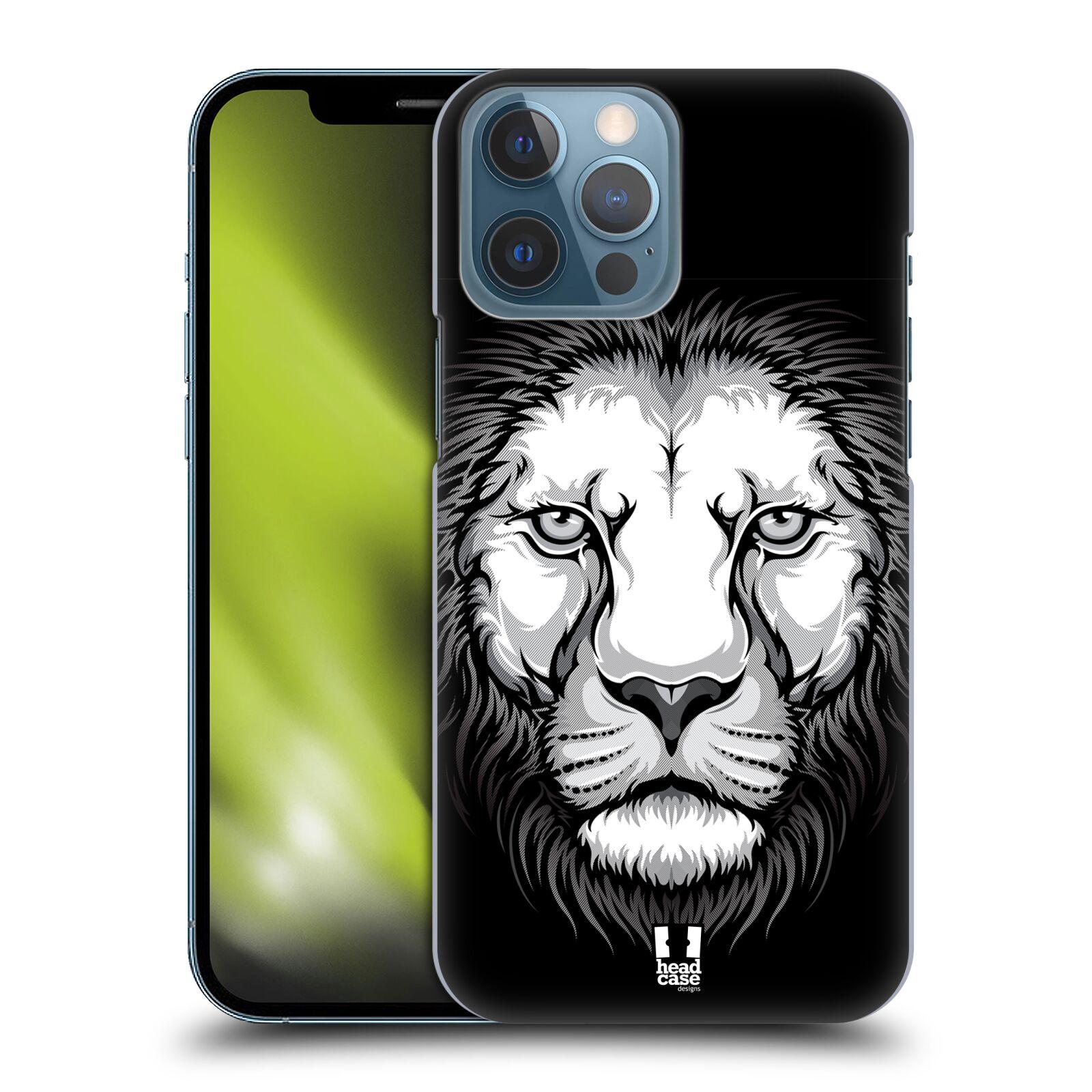 Plastové pouzdro na mobil Apple iPhone 13 Pro Max - Head Case - ILUSTROVANÝ LEV