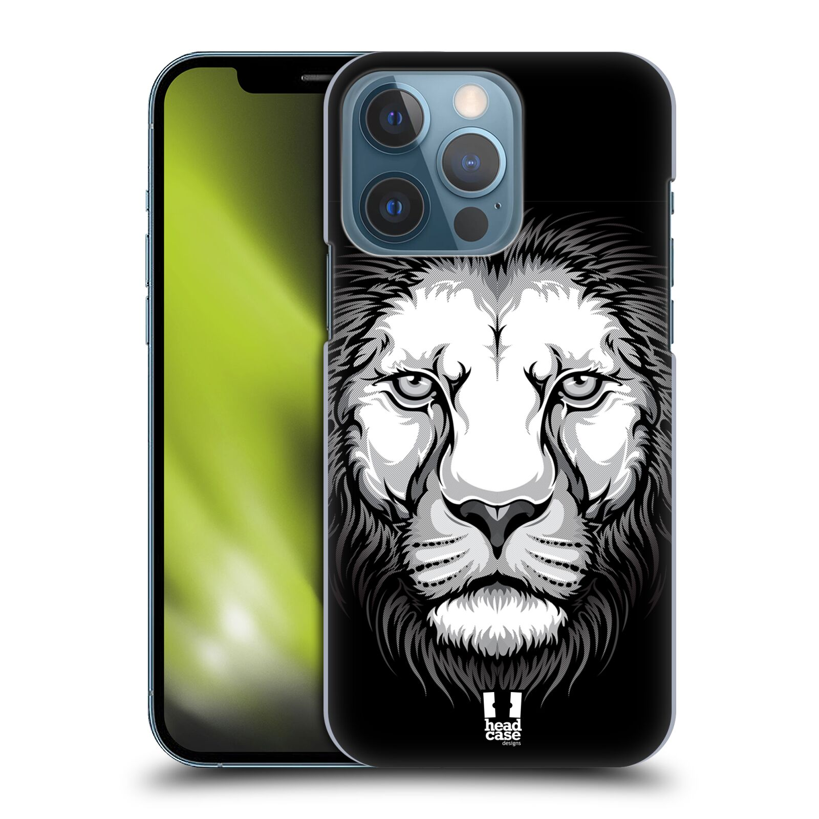 Plastové pouzdro na mobil Apple iPhone 13 Pro - Head Case - ILUSTROVANÝ LEV