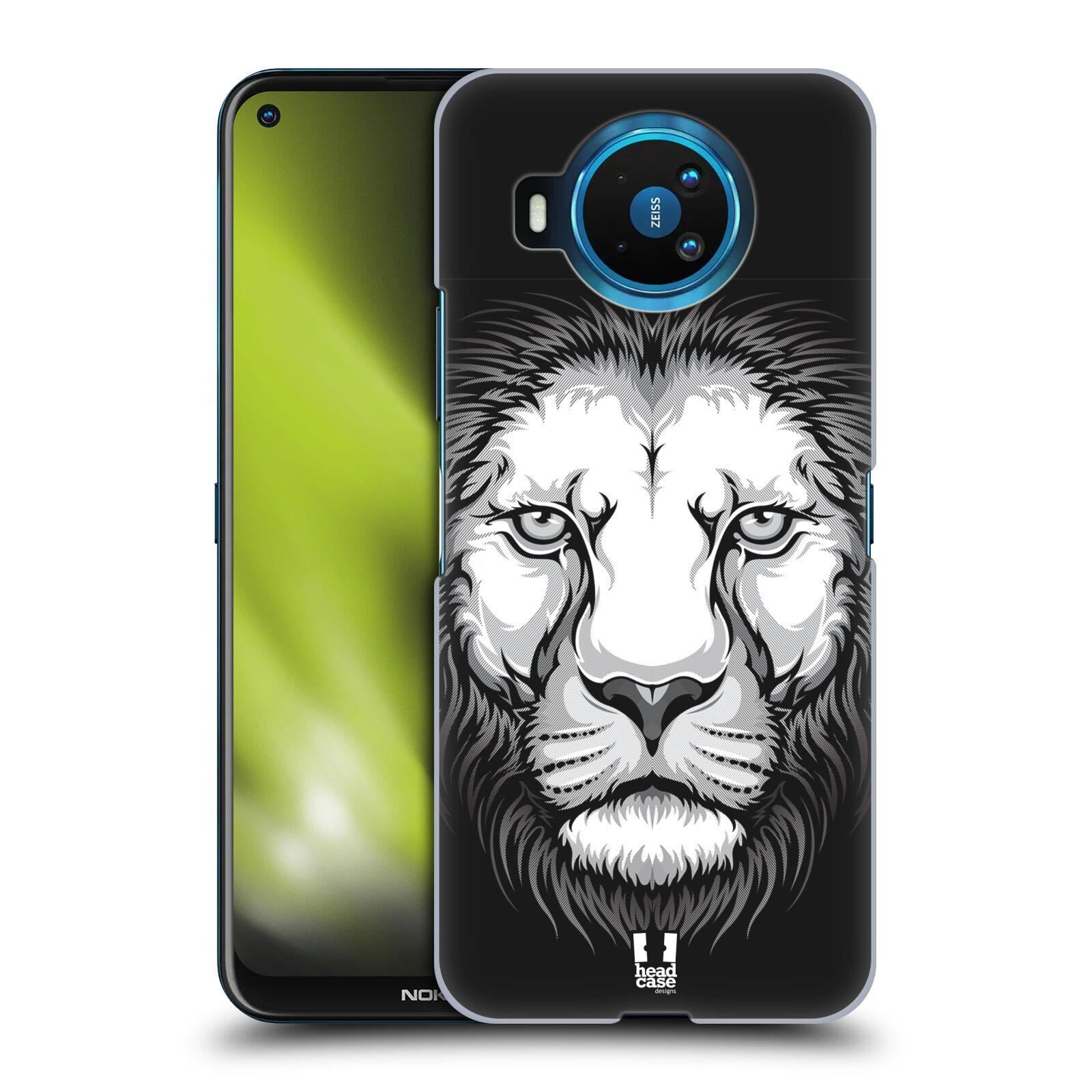 Plastové pouzdro na mobil Nokia 8.3 5G - Head Case - ILUSTROVANÝ LEV
