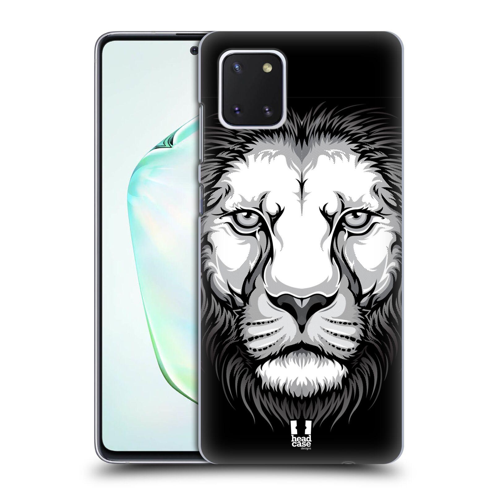 Plastové pouzdro na mobil Samsung Galaxy Note 10 Lite - Head Case - ILUSTROVANÝ LEV