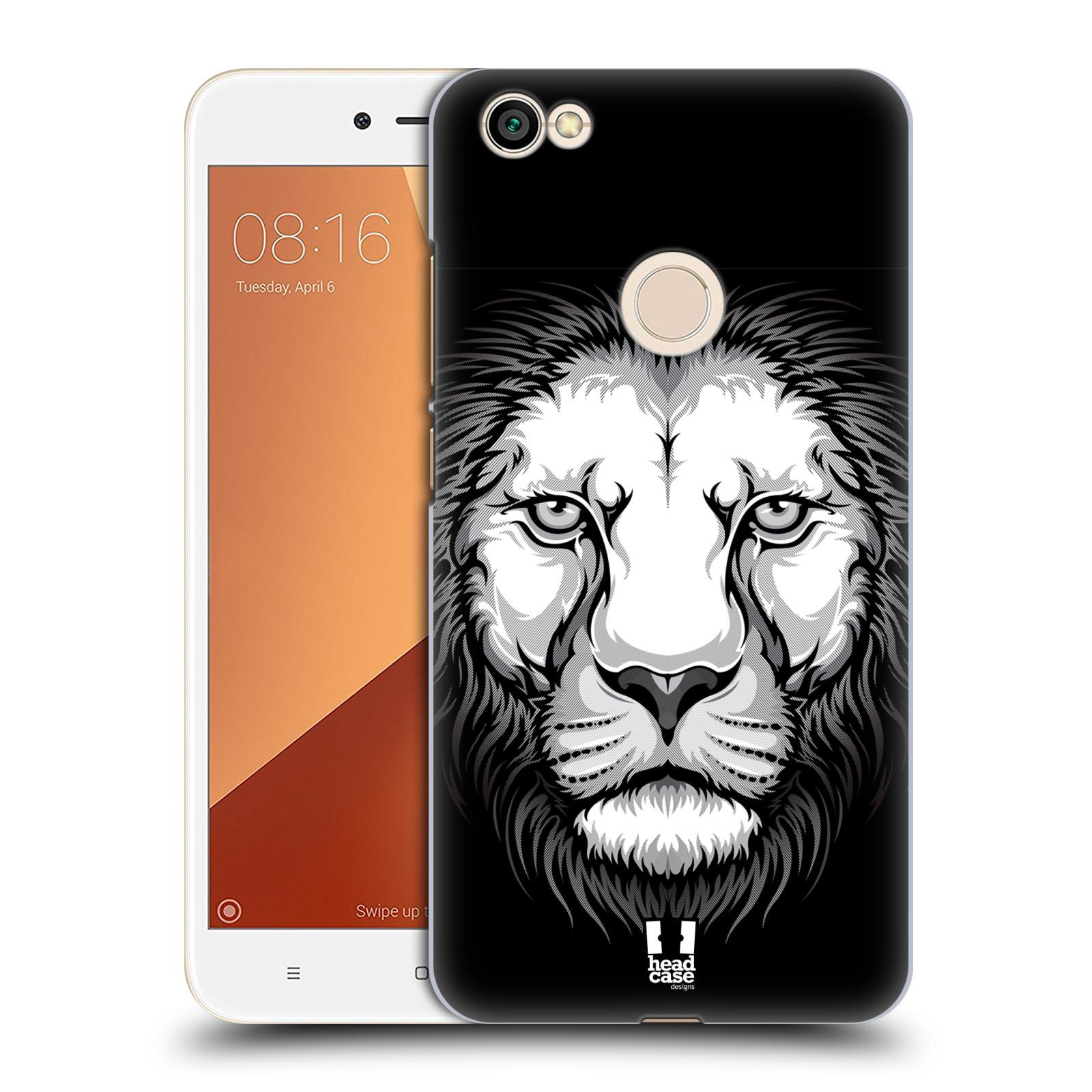 Plastové pouzdro na mobil Xiaomi Redmi Note 5A Prime - Head Case - ILUSTROVANÝ LEV