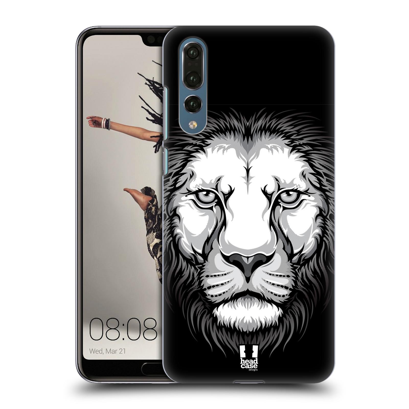 Plastové pouzdro na mobil Huawei P20 Pro - Head Case - ILUSTROVANÝ LEV