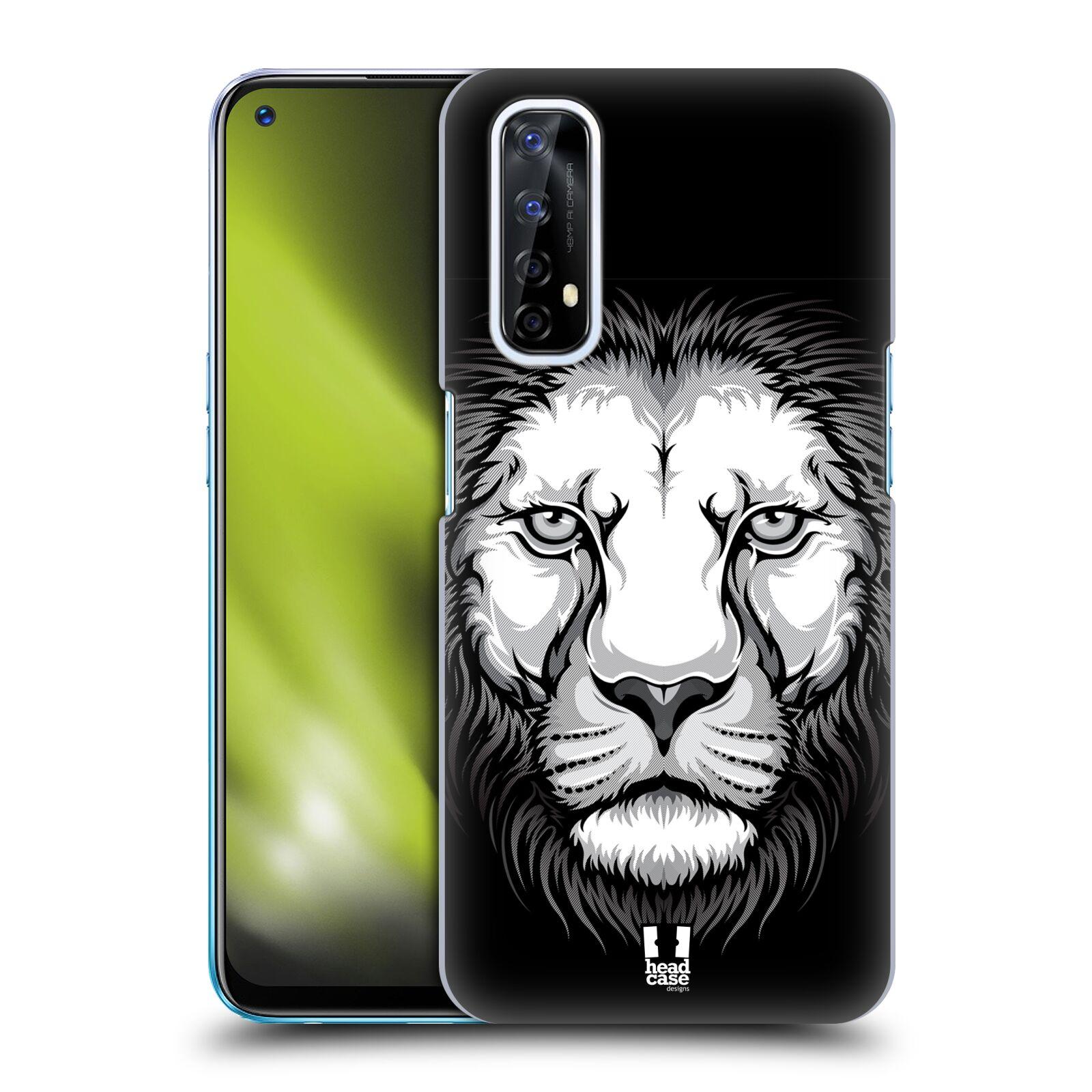 Plastové pouzdro na mobil Realme 7 - Head Case - ILUSTROVANÝ LEV